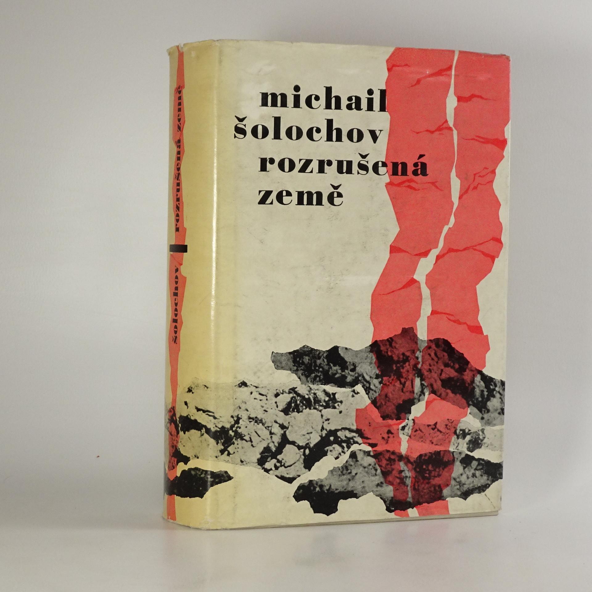 antikvární kniha Rozrušená země, 1962