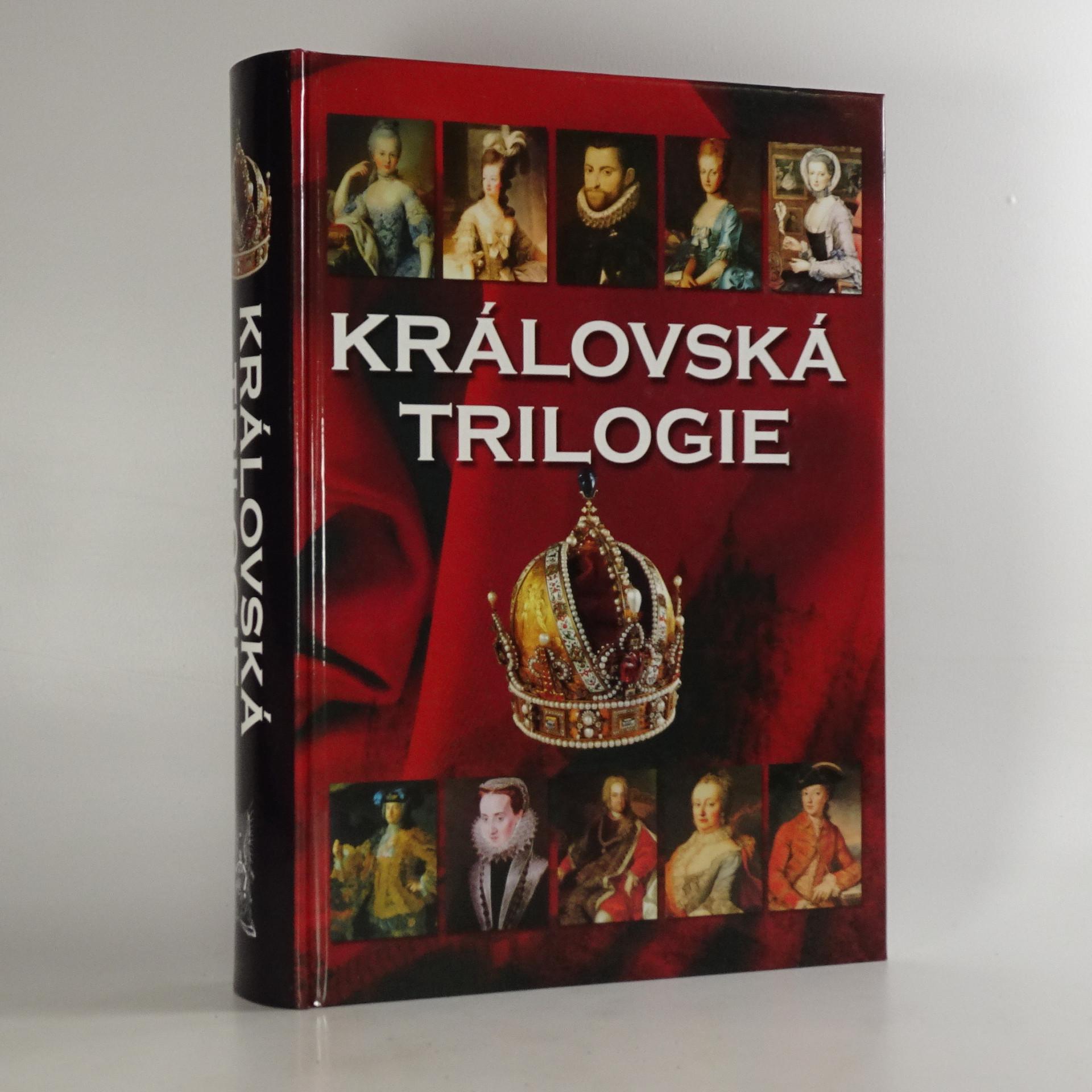 antikvární kniha Královská trilogie, 2008