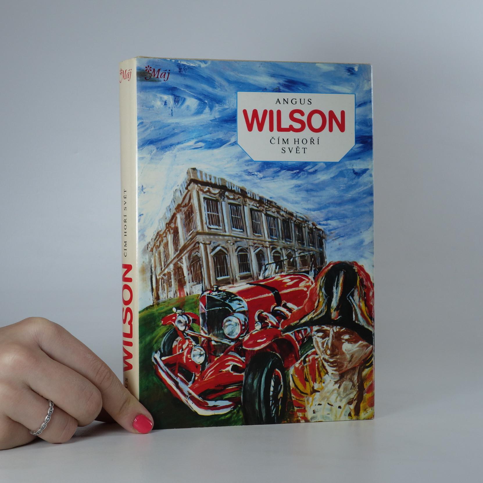 antikvární kniha Čím hoří svět, 1987