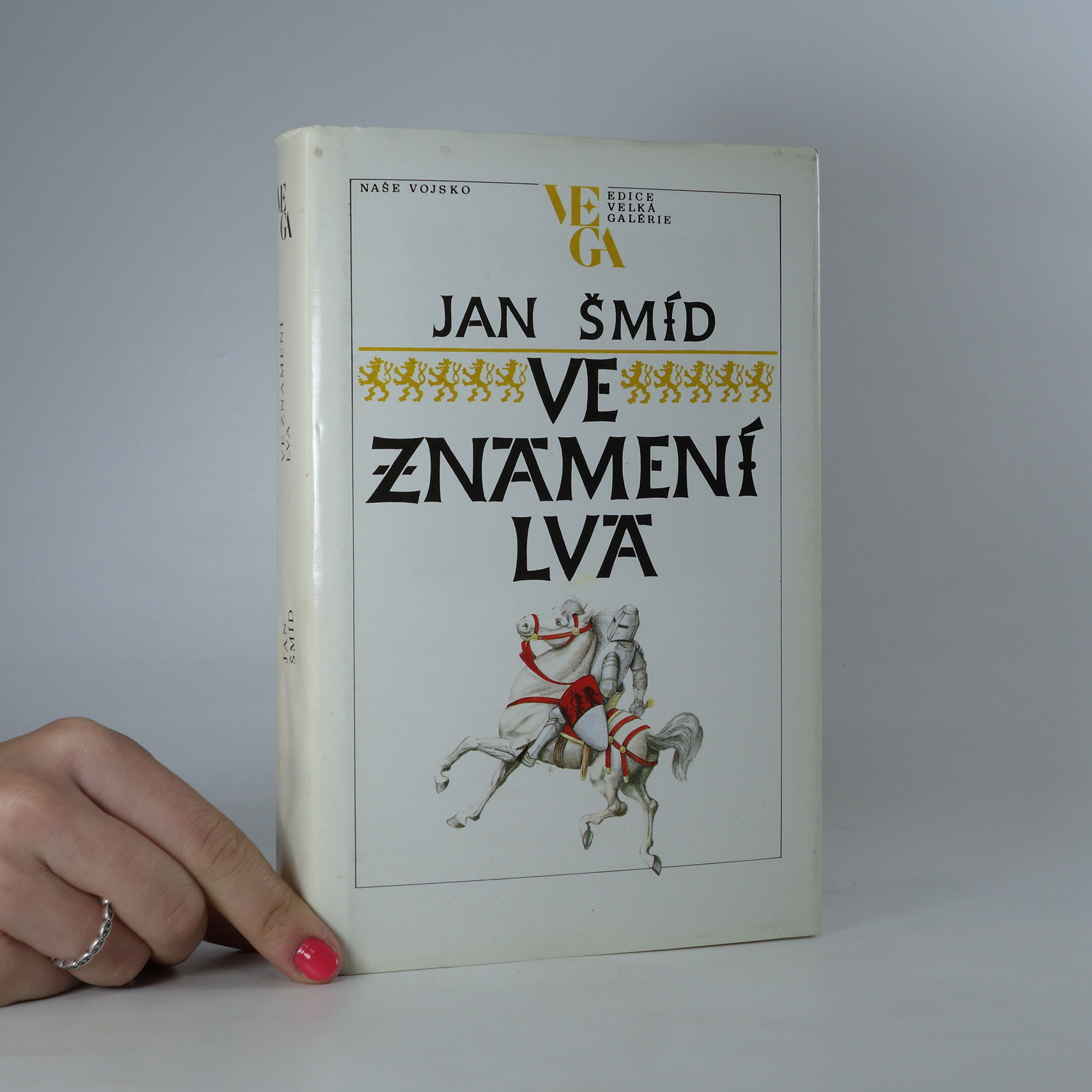 antikvární kniha Ve znamení lva, 1989