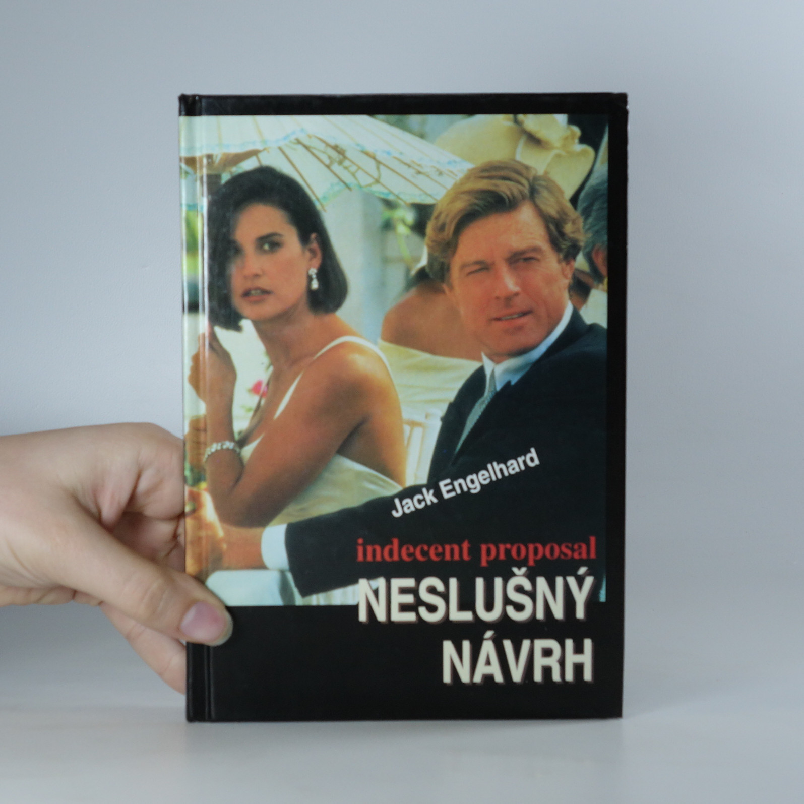 antikvární kniha Neslušný návrh, 1993