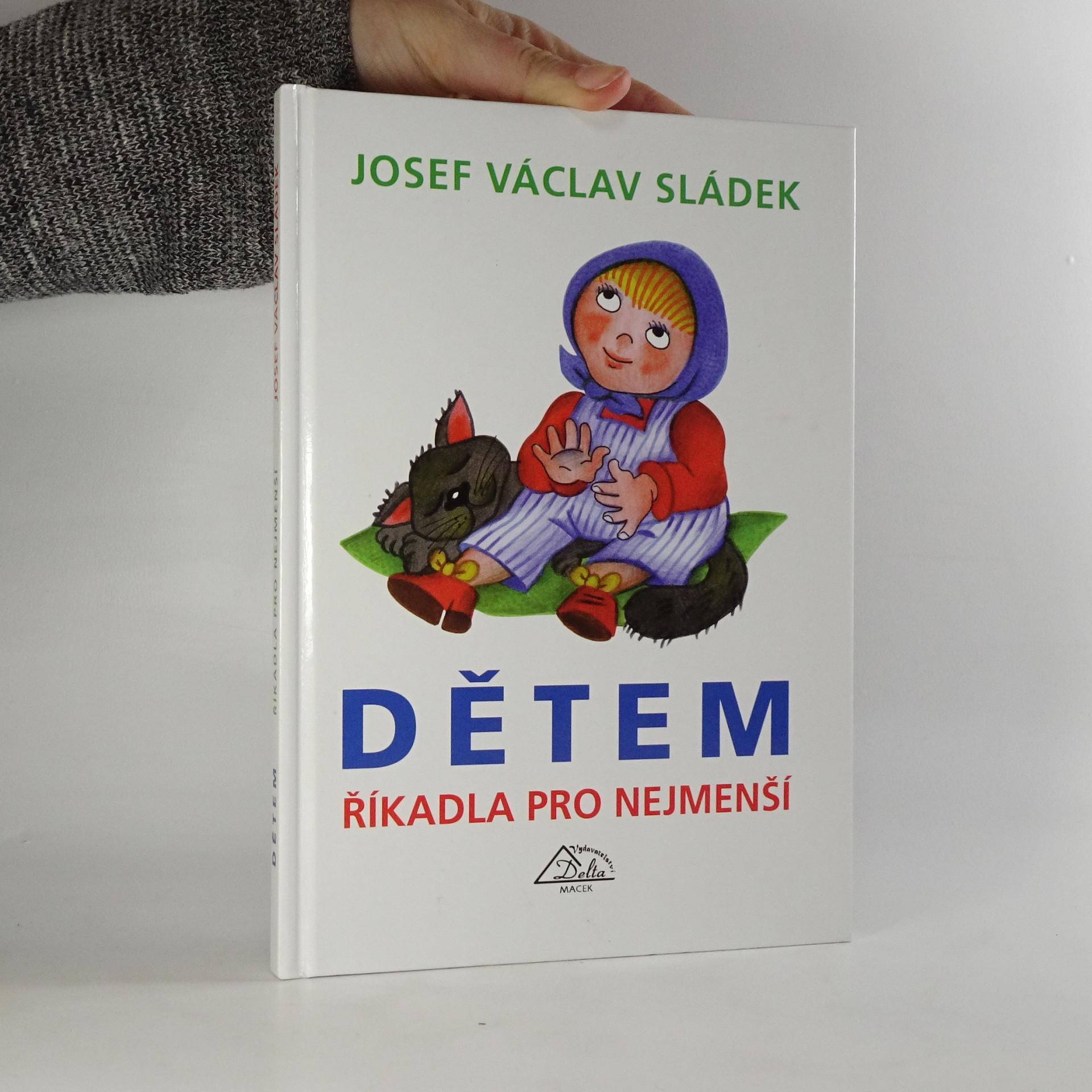 antikvární kniha Dětem - říkadla pro nejmenší, 2003
