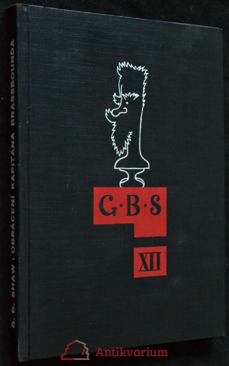 antikvární kniha Obrácení kapitána Brassbounda, 1932