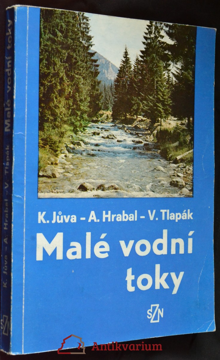 antikvární kniha Malé vodní toky, 1984
