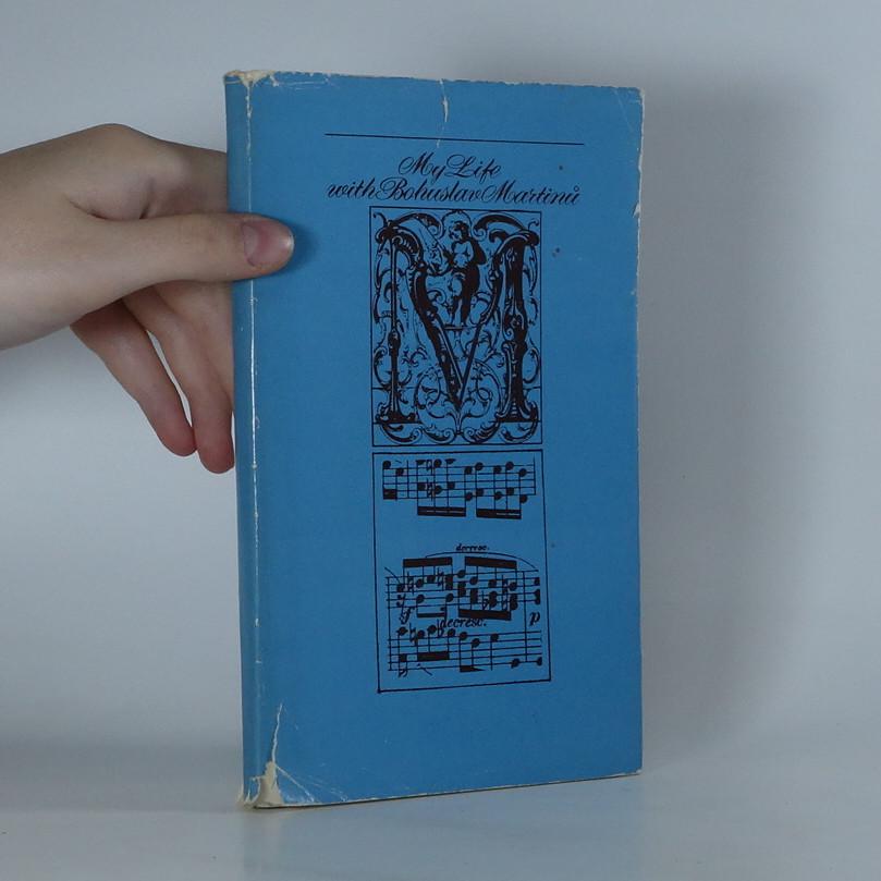 antikvární kniha My life with Bohuslav Martinů, 1978