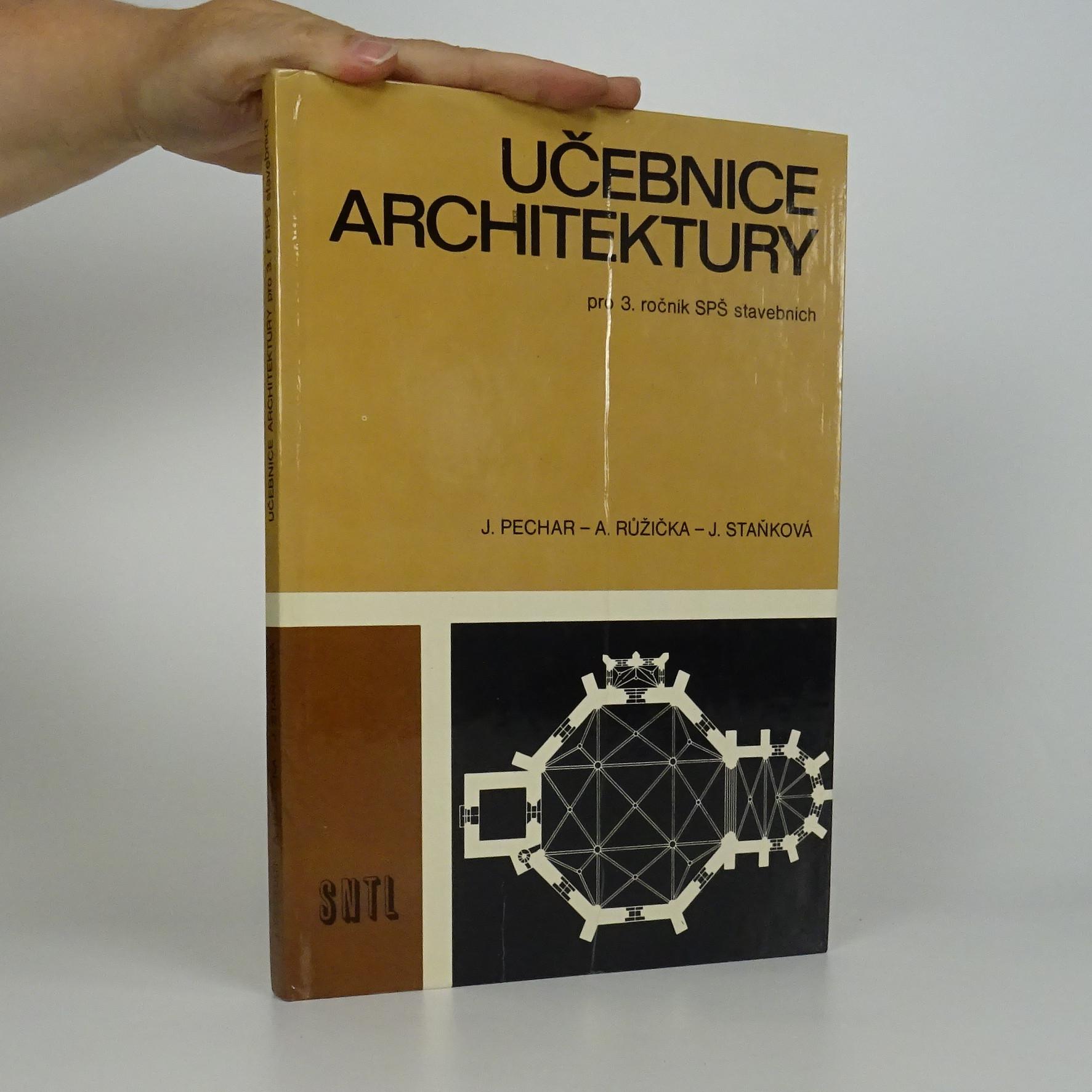 antikvární kniha Učebnice architektury pro 3. ročník SPŠ stavebních, 1981