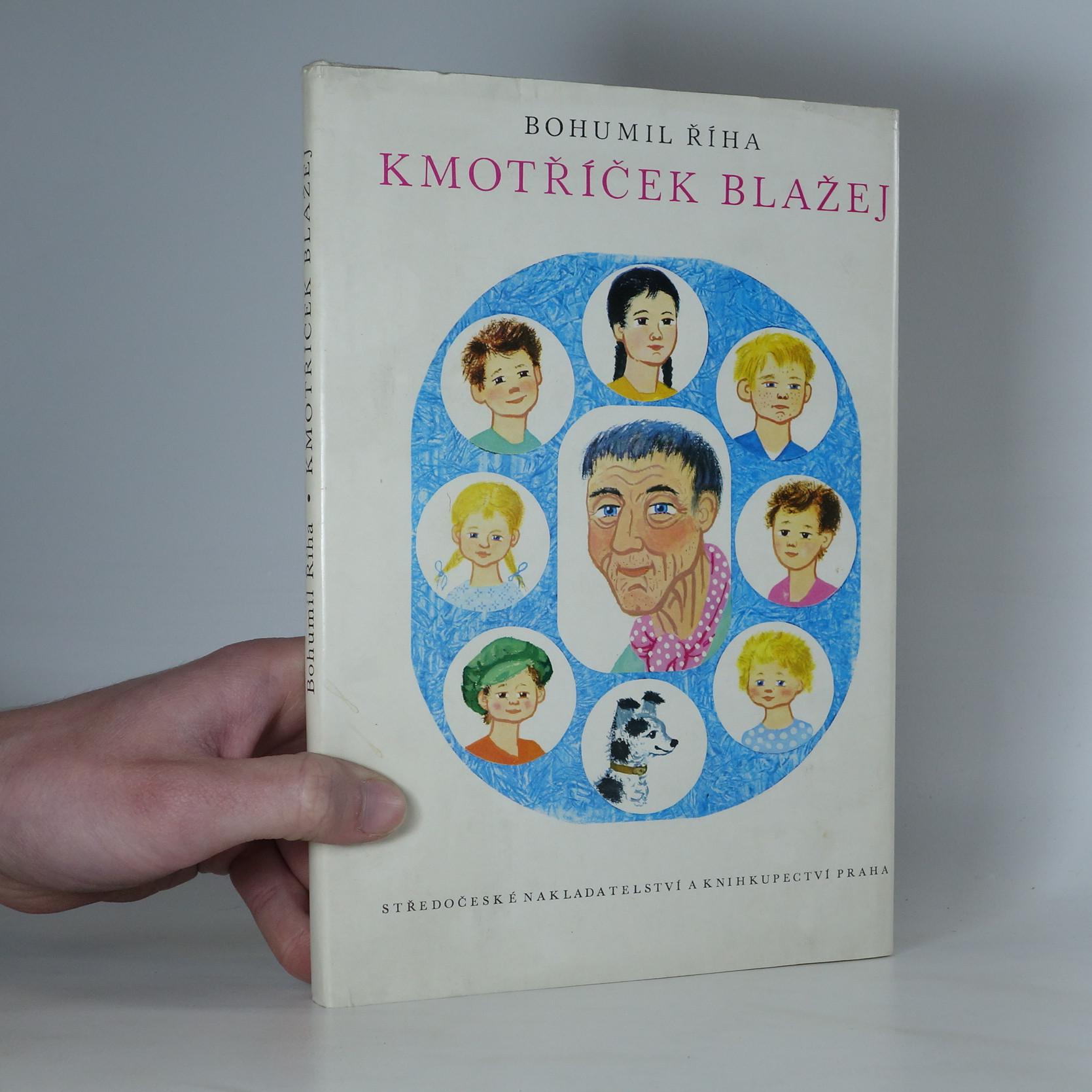 antikvární kniha Kmotříček Blažej, 1973