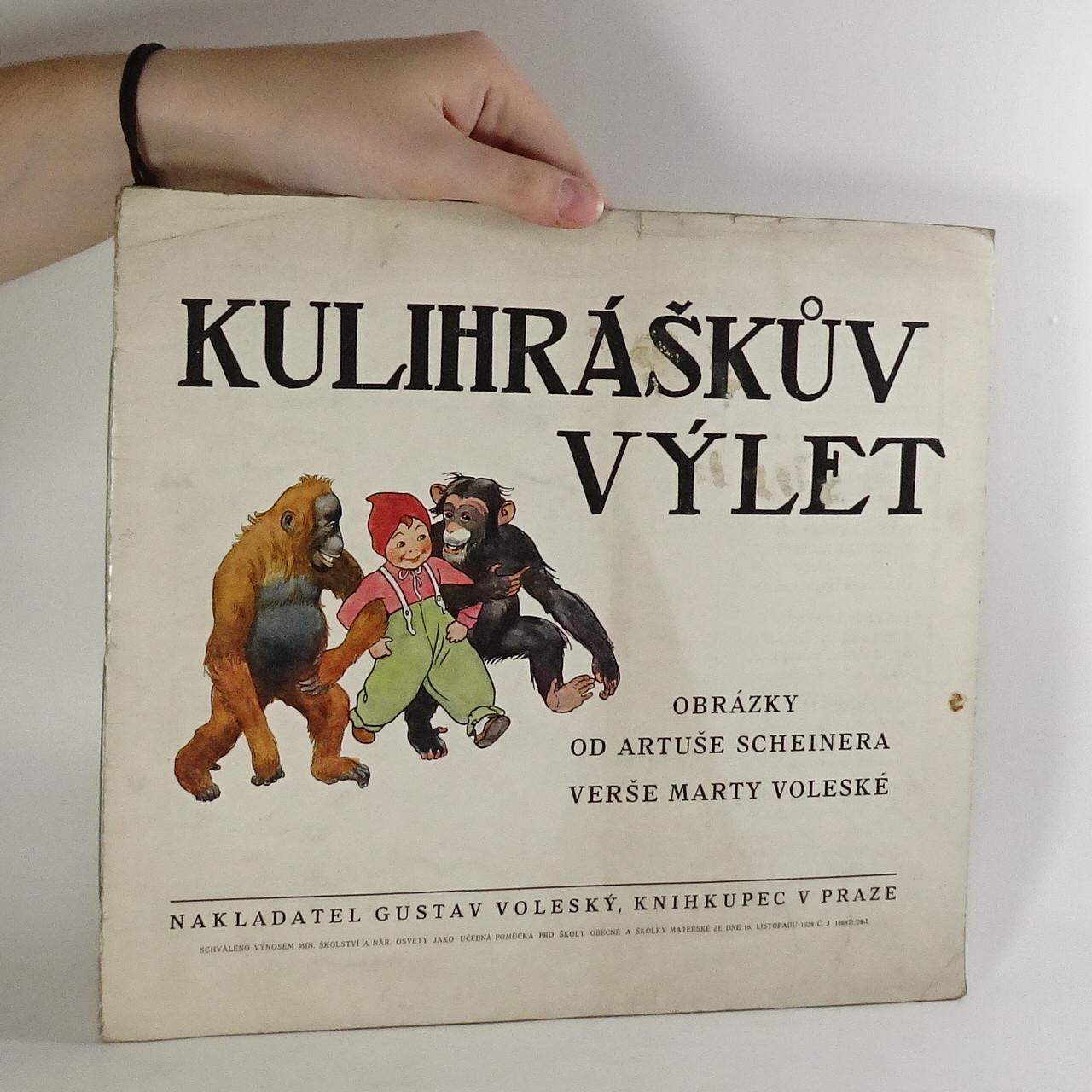 antikvární kniha Kulihráškův výlet, 1928