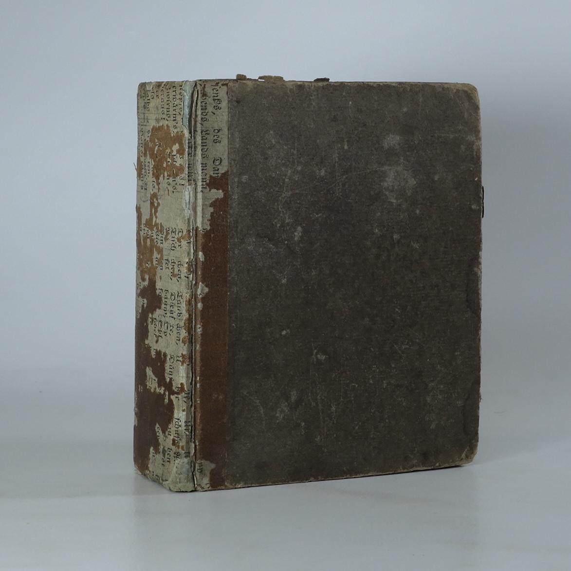 antikvární kniha Neues holländisch-deutsches und deutsch-holländisches Taschenwörterbuch, 1836