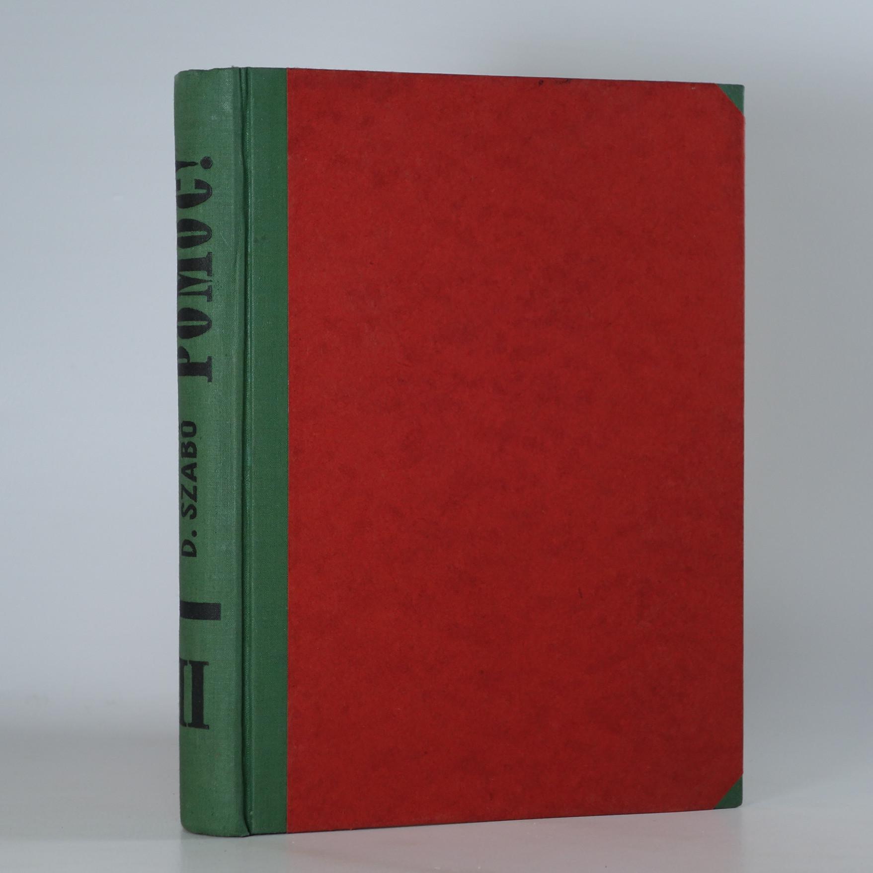 antikvární kniha Pomoc! II. část, 1930