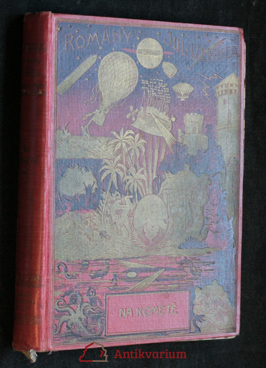 antikvární kniha Na kometě, neuveden