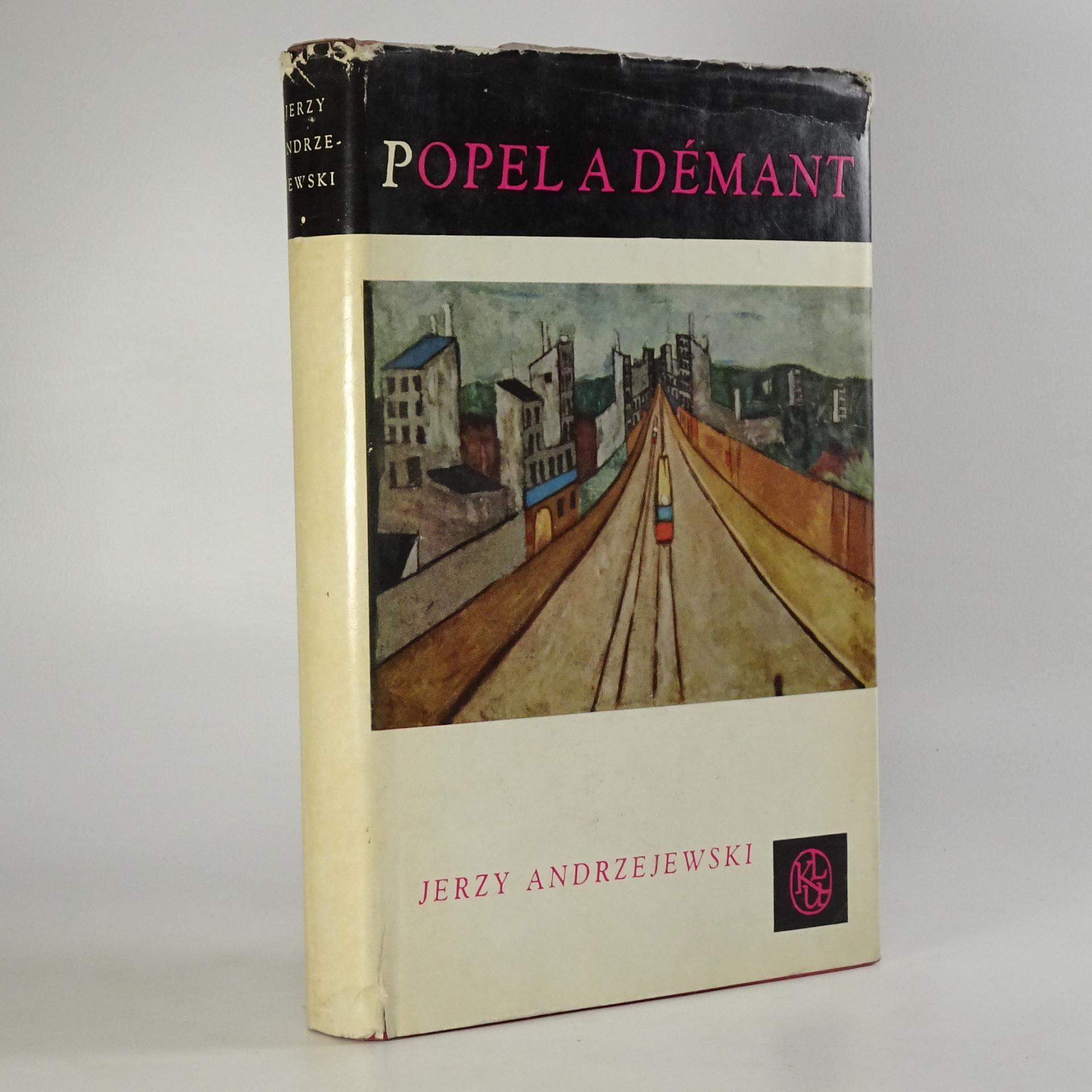 antikvární kniha Popel a démant, 1963