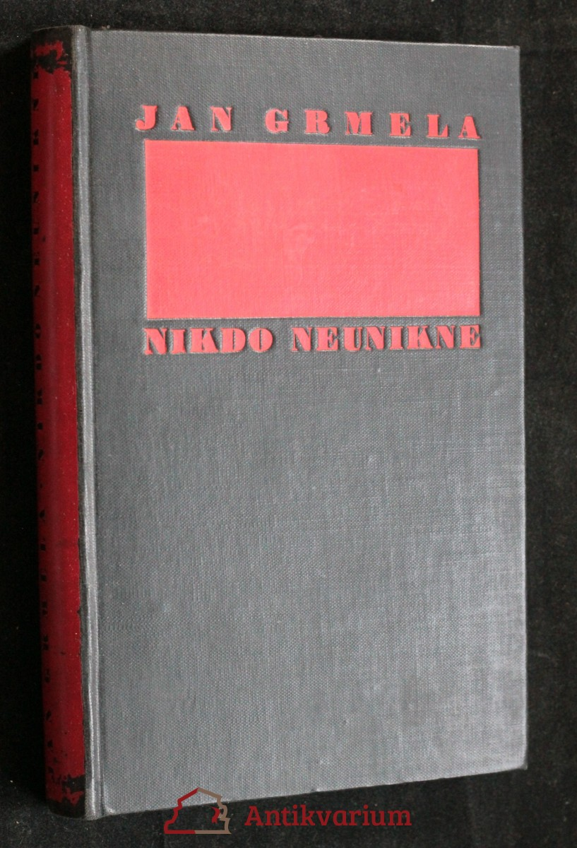 antikvární kniha Nikdo neunikne, 1935
