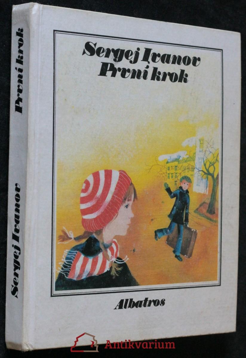 antikvární kniha První krok, 1980