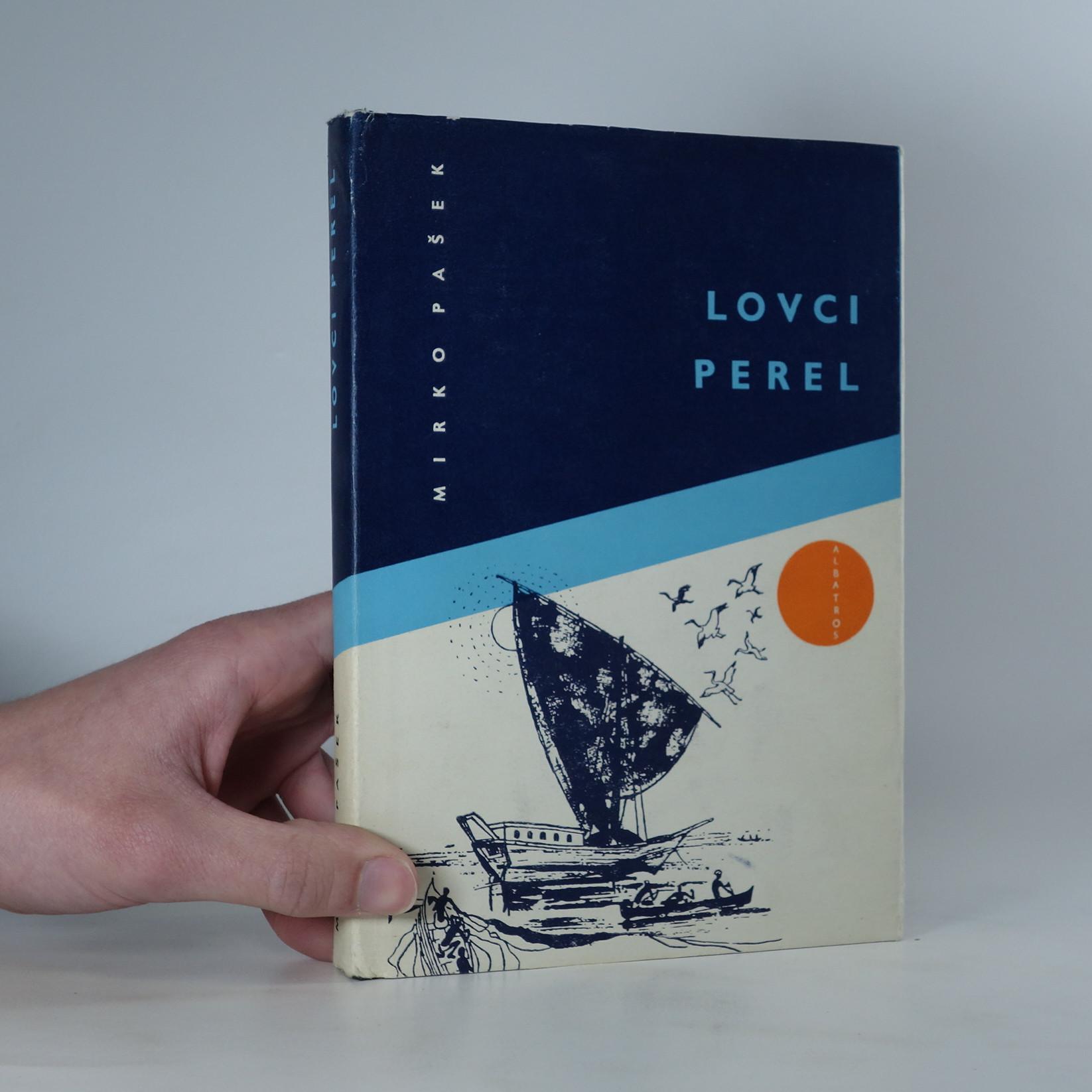 antikvární kniha Lovci perel, 1969