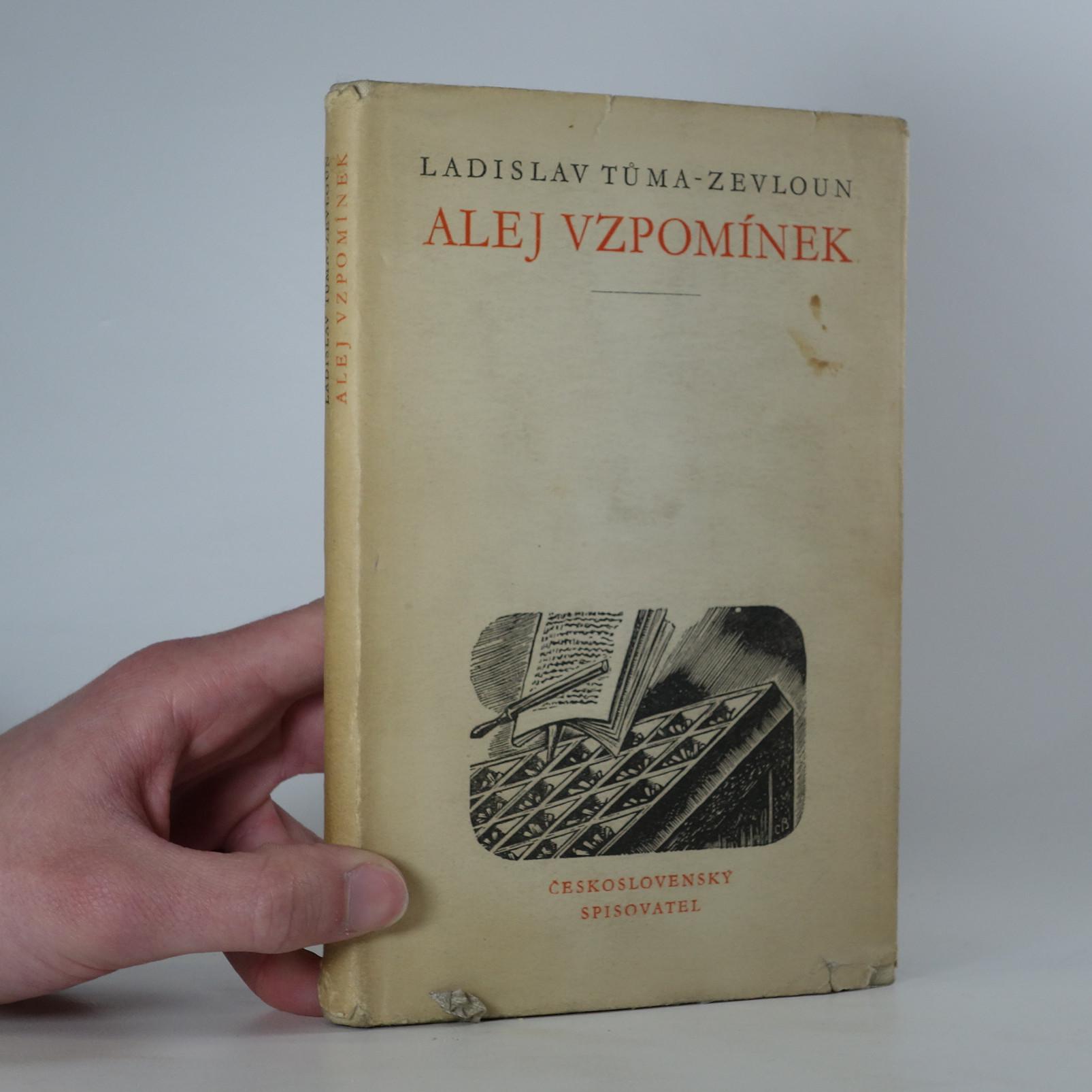 antikvární kniha Alej vzpomínek, 1958