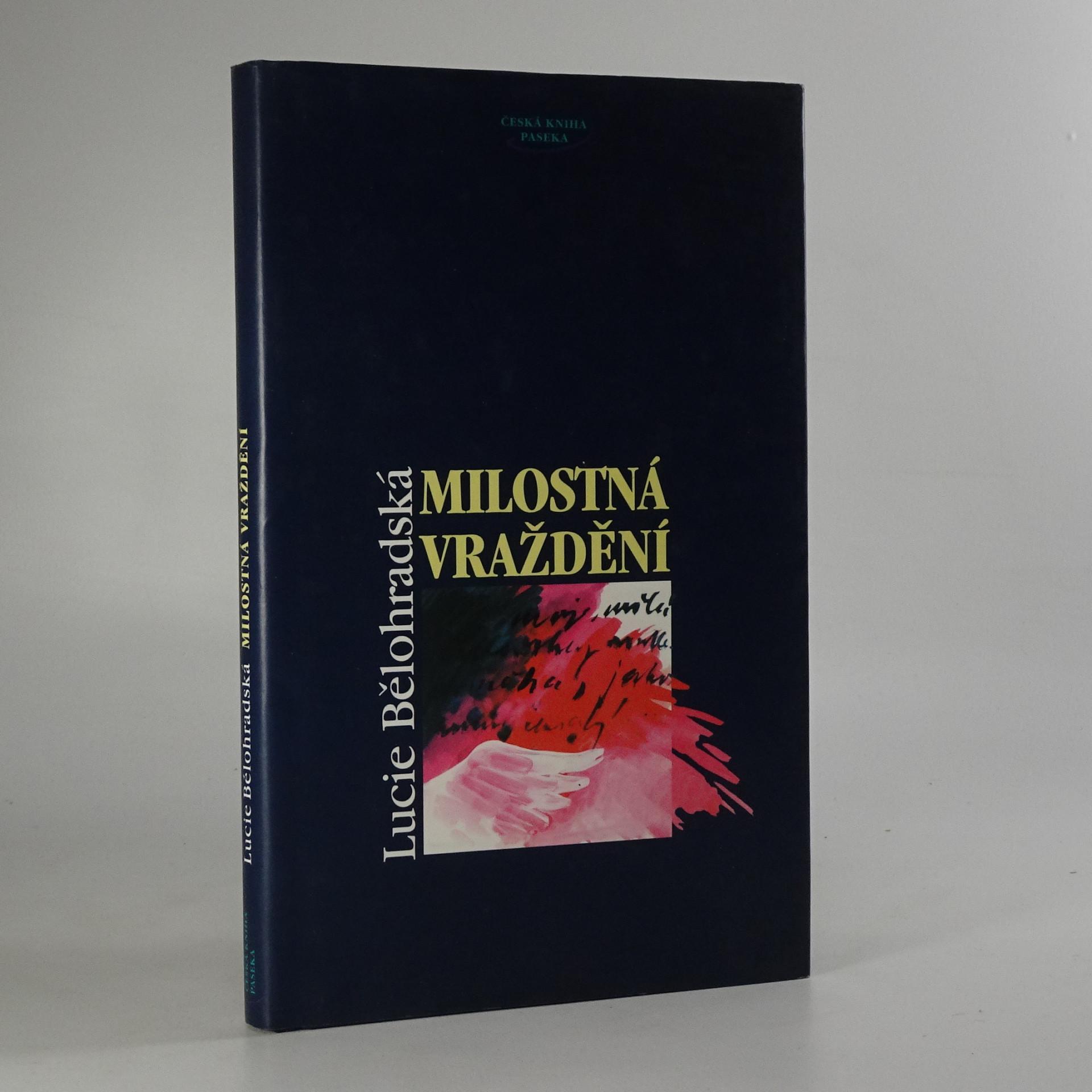 antikvární kniha Milostná vraždění, 1996