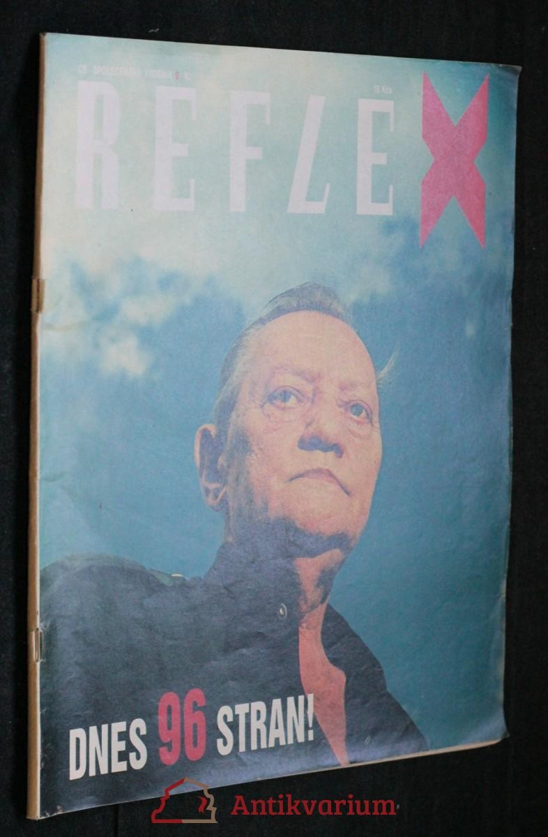antikvární kniha Reflex, č. 9, 1992