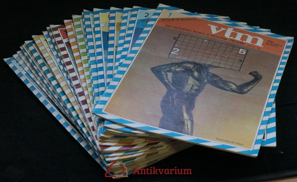antikvární kniha Vtm 1.-24. číslo, ročník XLI, 1987