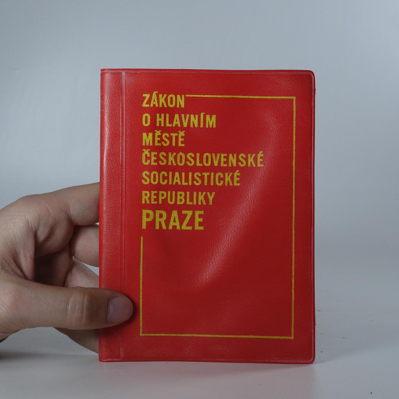 antikvární kniha Zákon o hlavním městě Československé socialistické republiky Praze, 1968