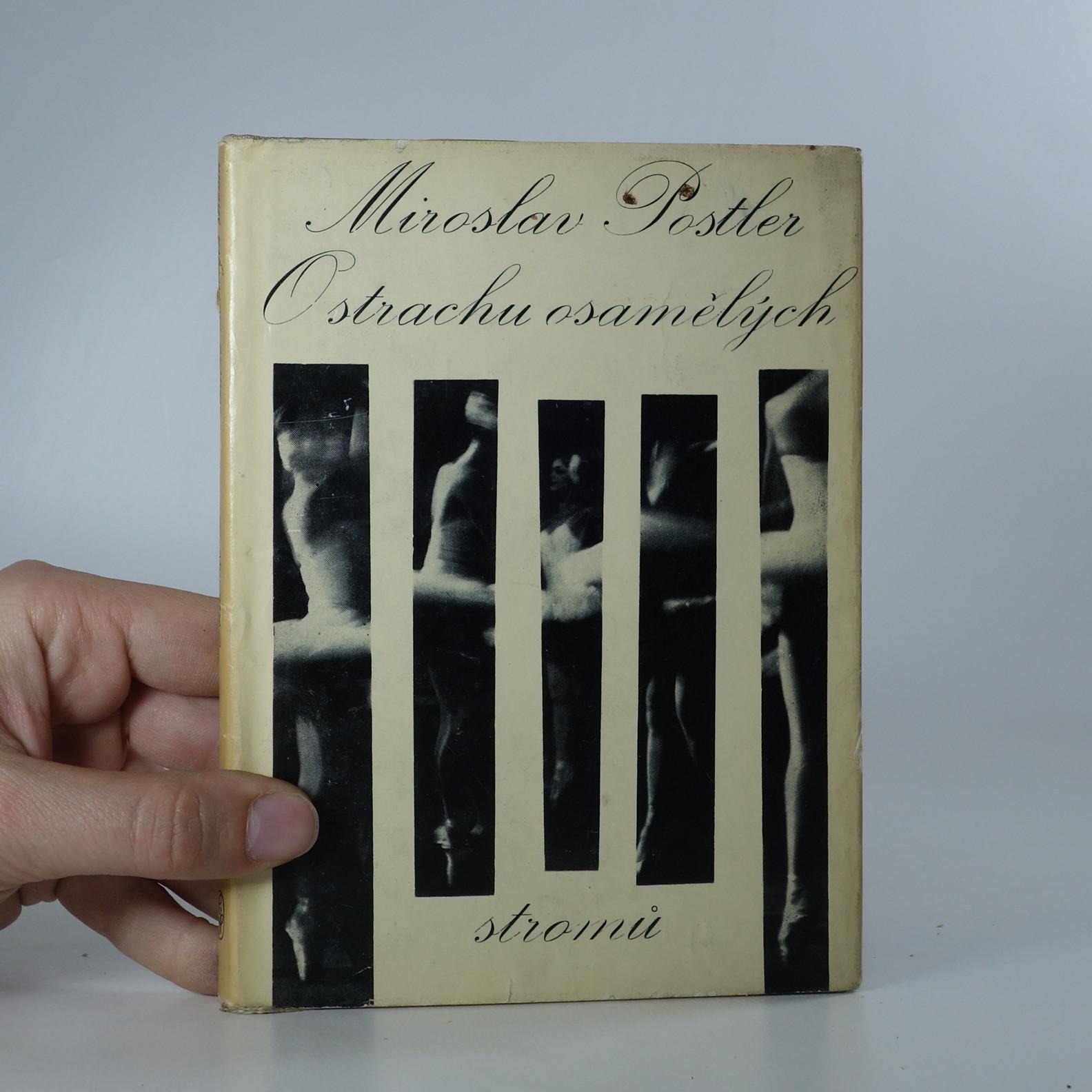 antikvární kniha O strachu osamělých stromů, 1967