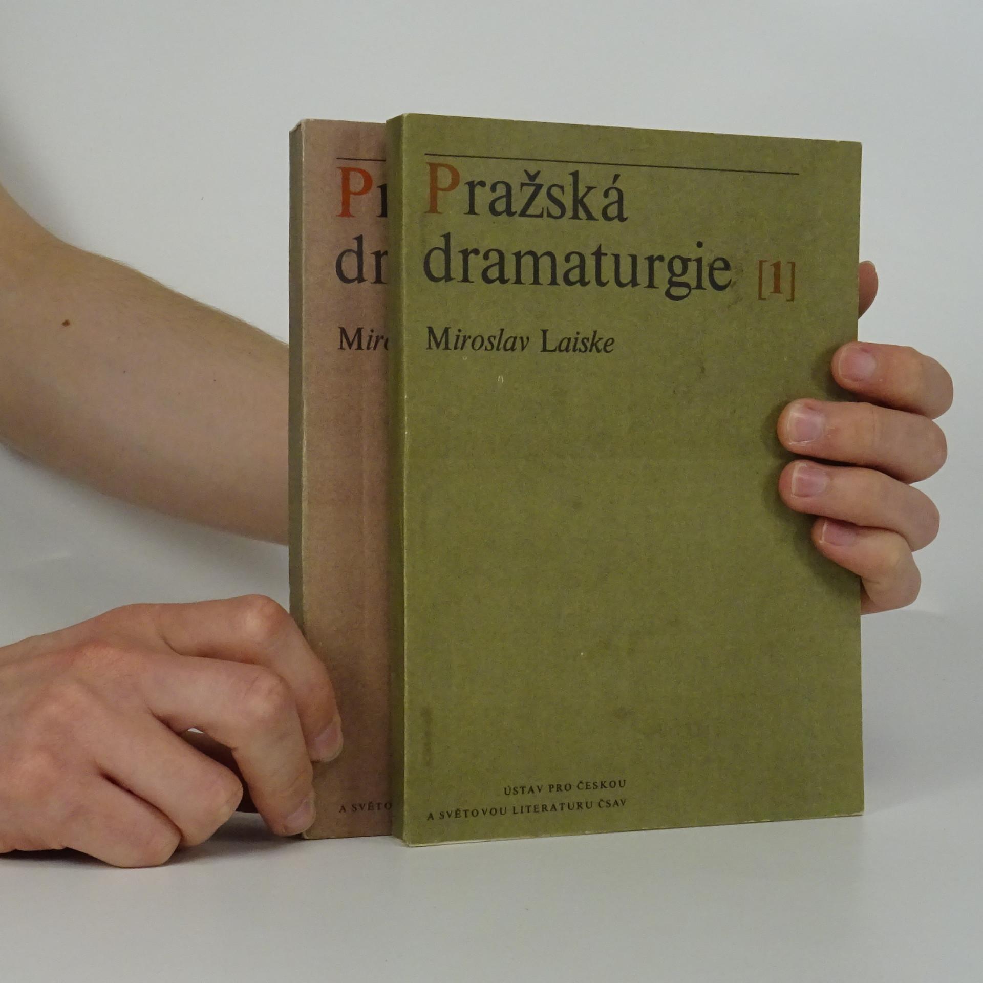 antikvární kniha Pražská dramaturgie 1 a 2 (2 svazky), 1974