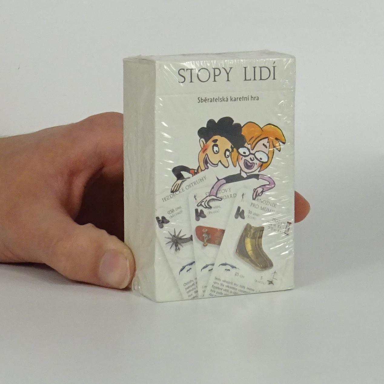 antikvární kniha Stopy lidí. Sběratelská karetní hra., 2007