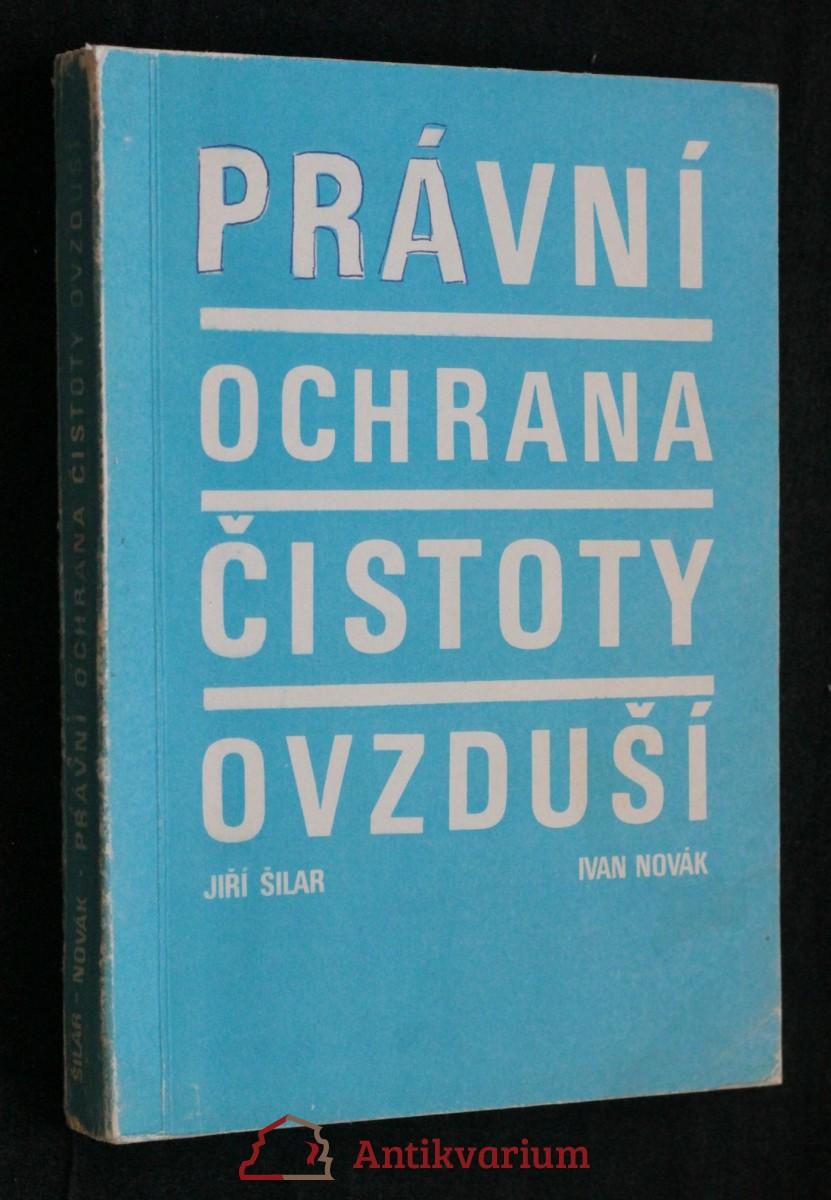 antikvární kniha Právní ochrana čistoty ovzduší, 1976