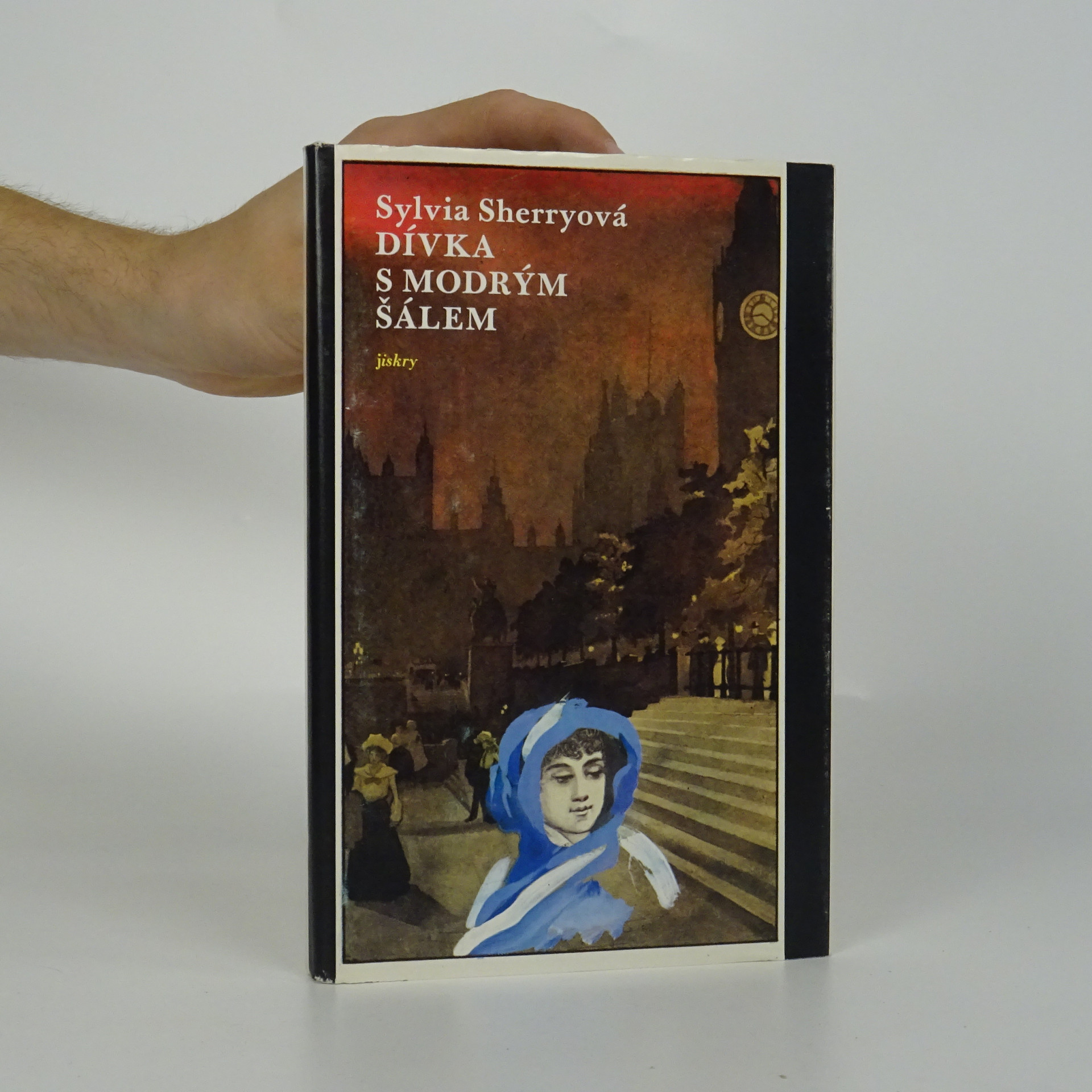 antikvární kniha Dívka s modrým šálem, 1986