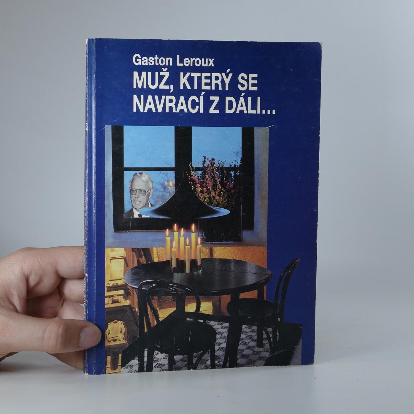antikvární kniha Muž, který se navrací z dáli..., 1992