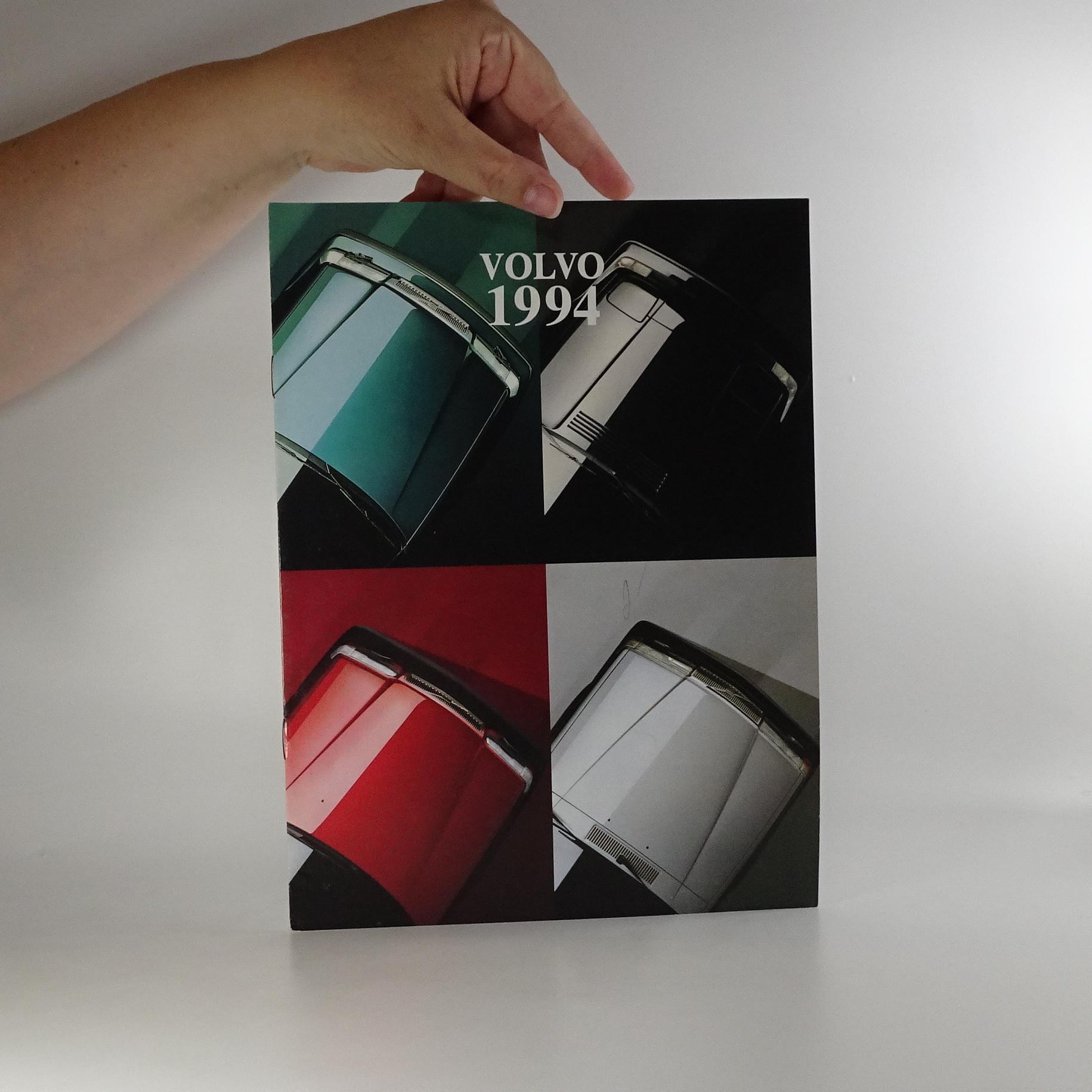 antikvární kniha Prospekt Volvo 1994, 1994