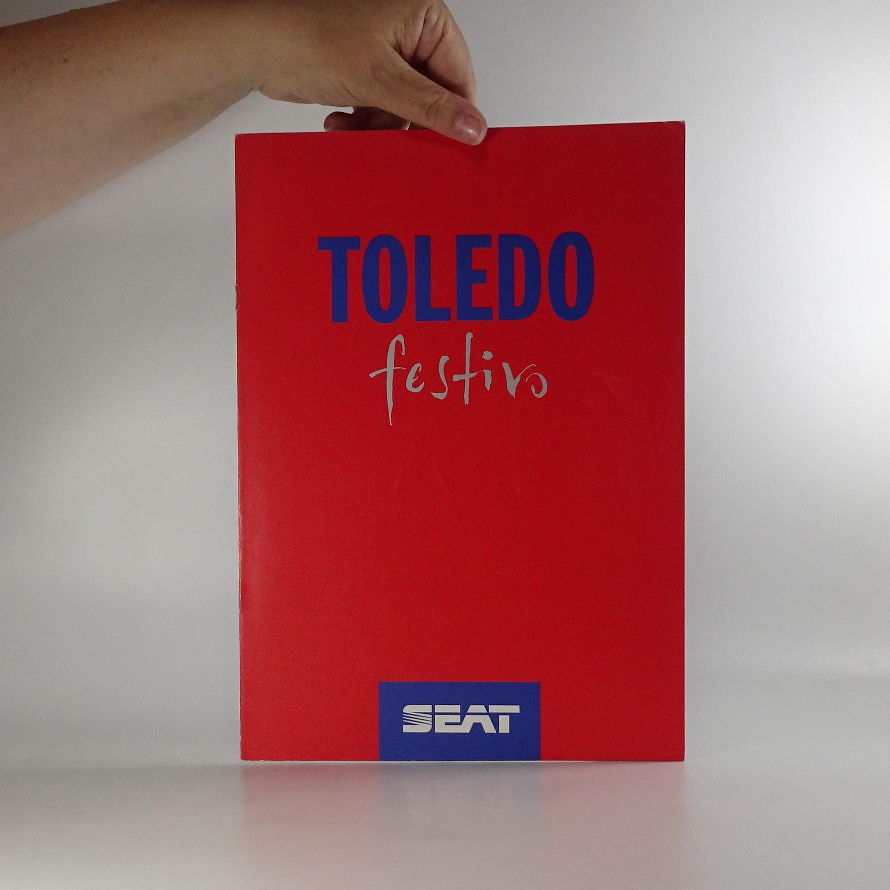 antikvární kniha Prospekt Seat Toledo Festivo, neuveden