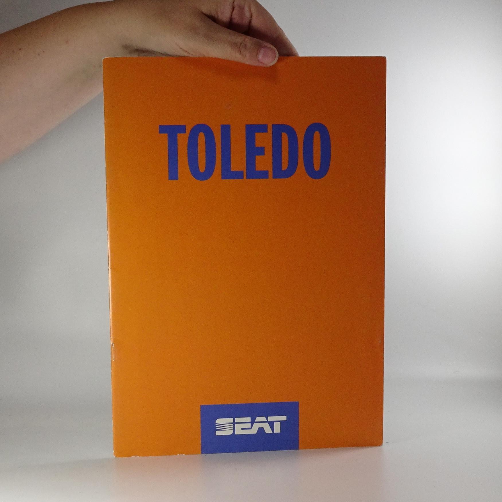 antikvární kniha Prospekt Seat Toledo, neuveden