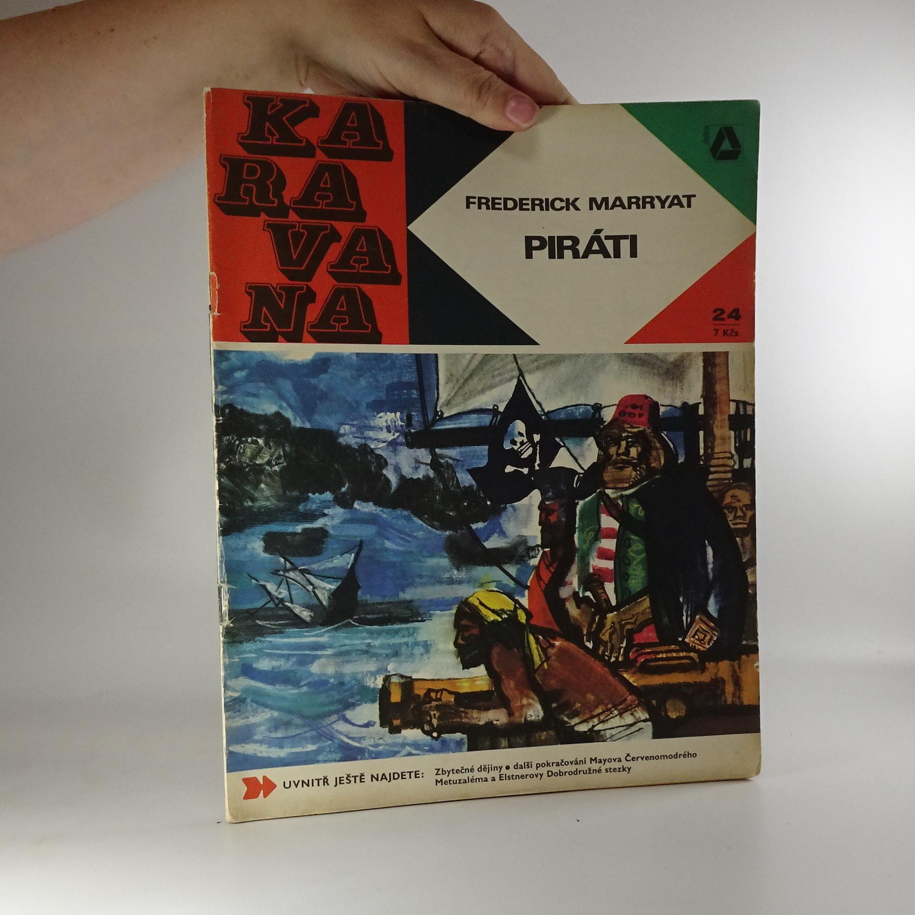 antikvární kniha Karavana č. 24, Piráti, 1969, 1969