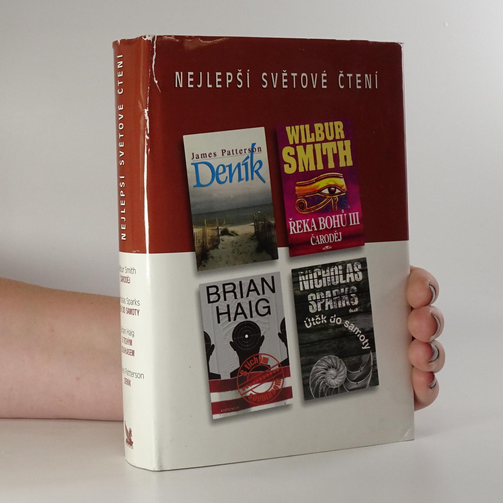 antikvární kniha Nejlepší světové čtení (Čaroděj, Útěk do samoty, S tichým souhlasem, Deník), 2003
