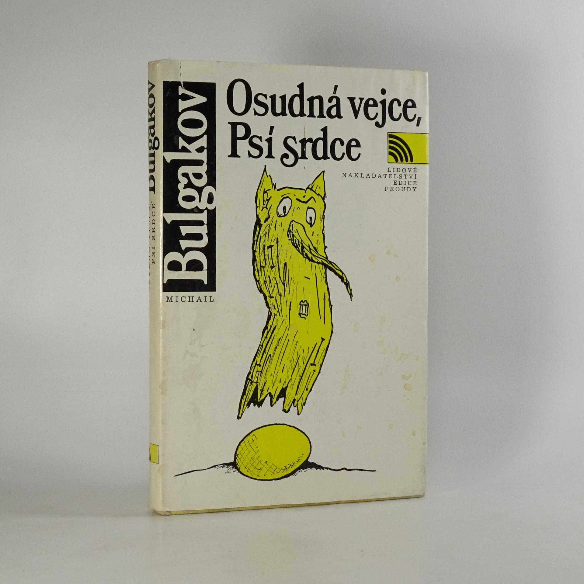 antikvární kniha Osudná vejce. Psí srdce, 1990