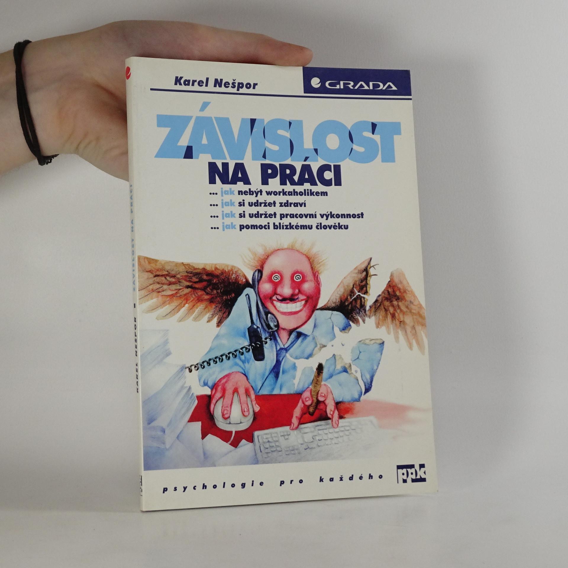 antikvární kniha Závislost na práci, 1999