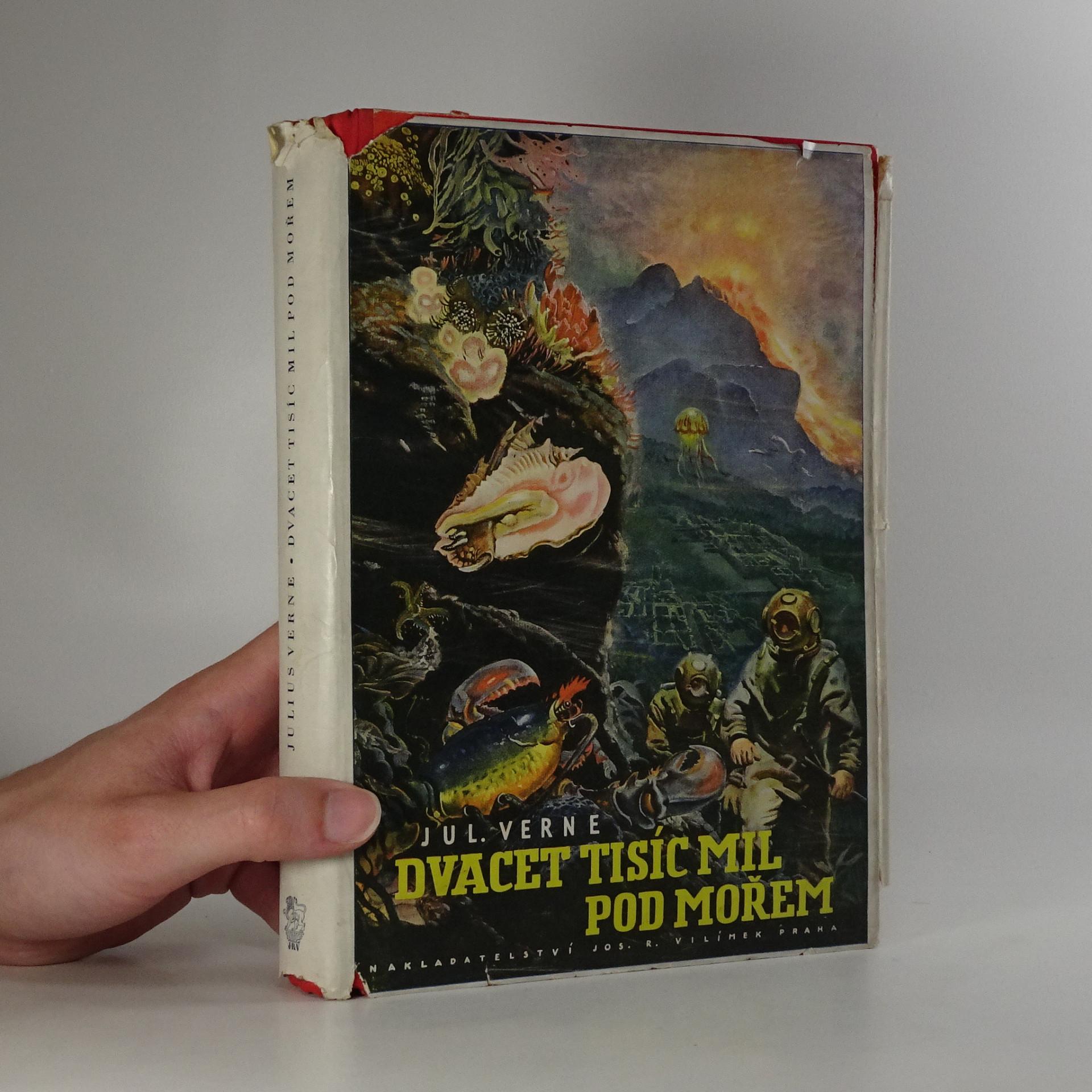 antikvární kniha Dvacet tisíc mil pod mořem, 1949