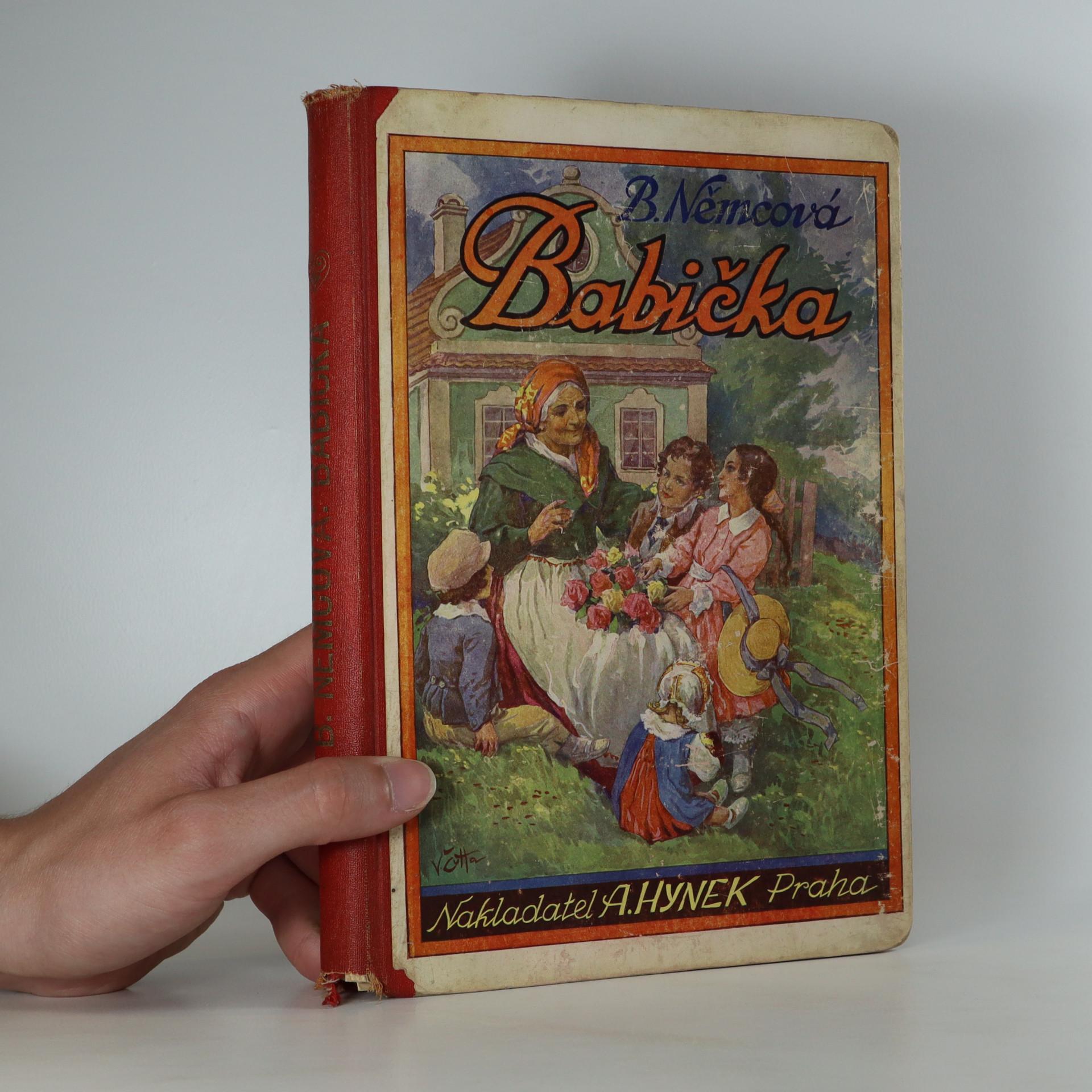 antikvární kniha Babička, neuveden