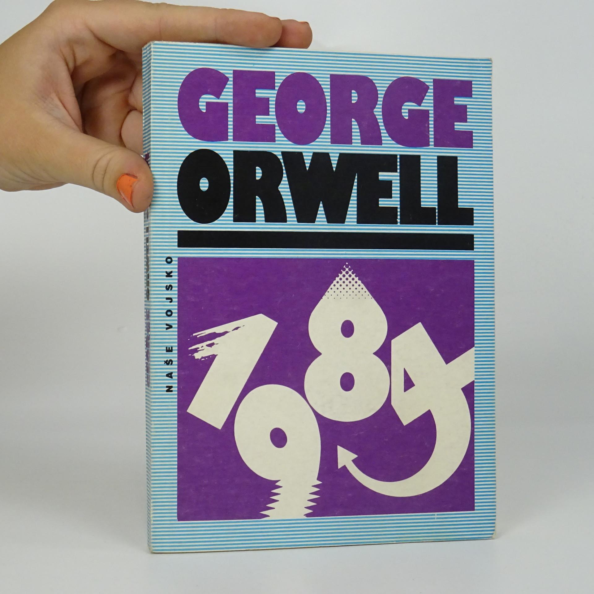antikvární kniha 1984, 1991