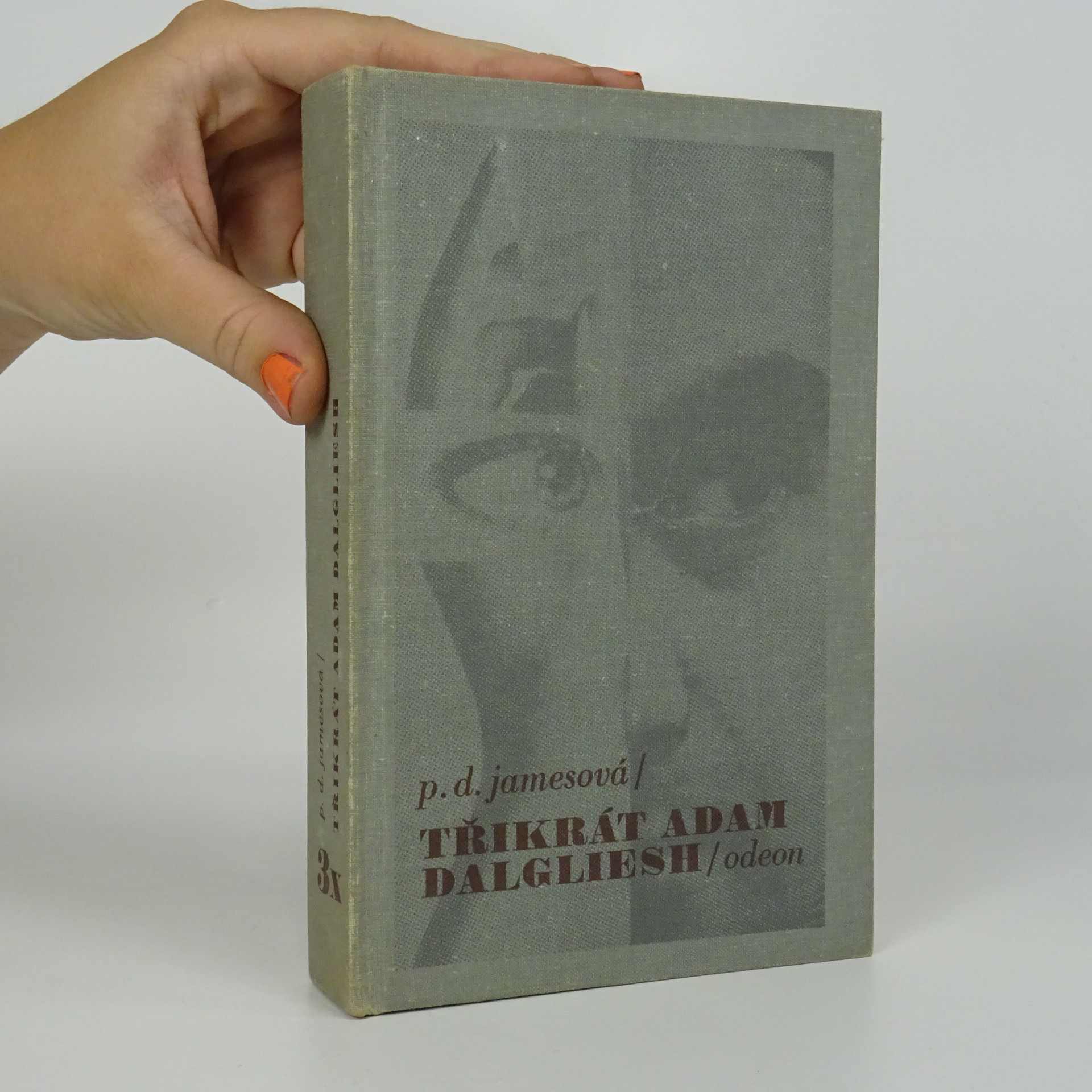 antikvární kniha Třikrát Adam Dalgliesh, 1988