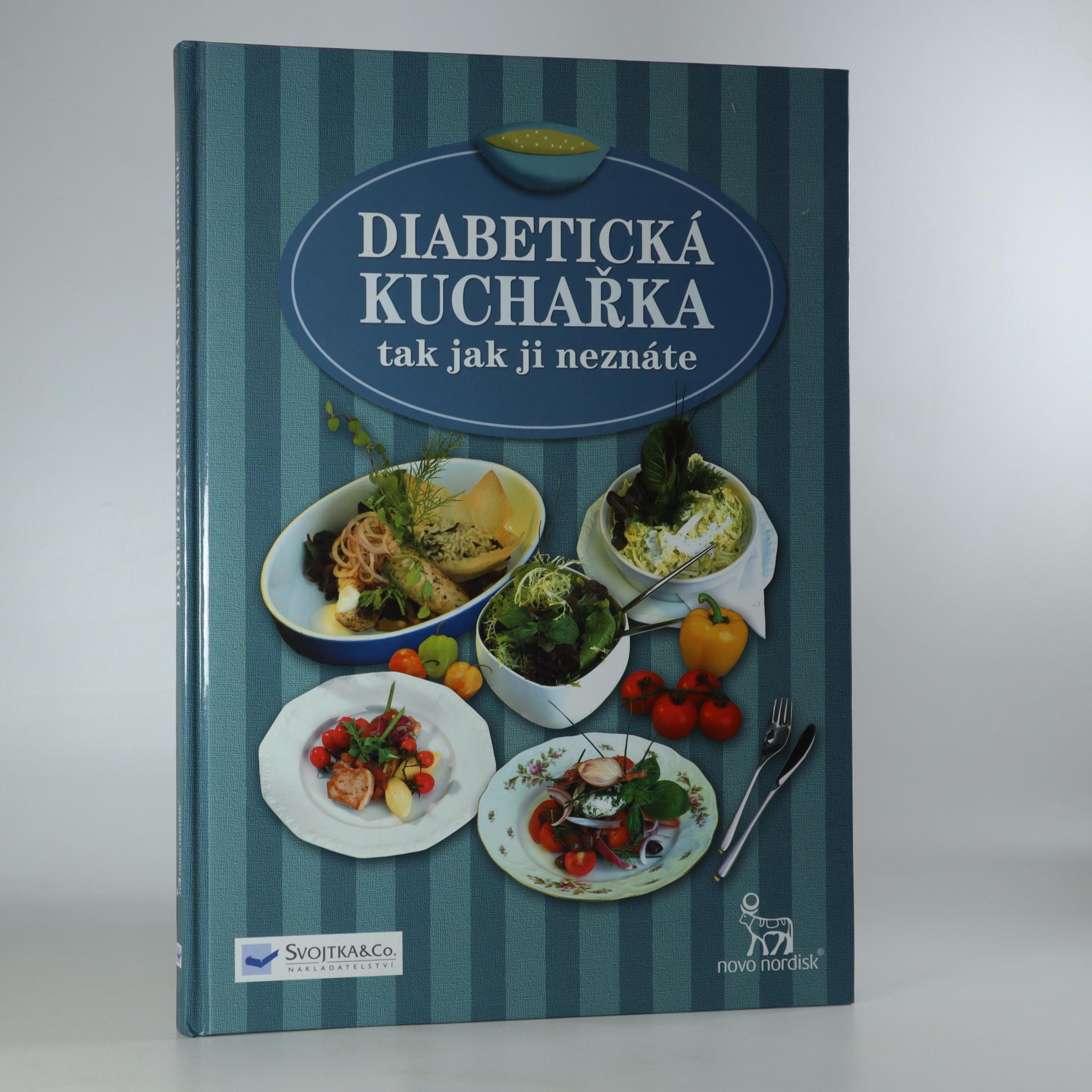antikvární kniha Diabetická kuchařka, 2002