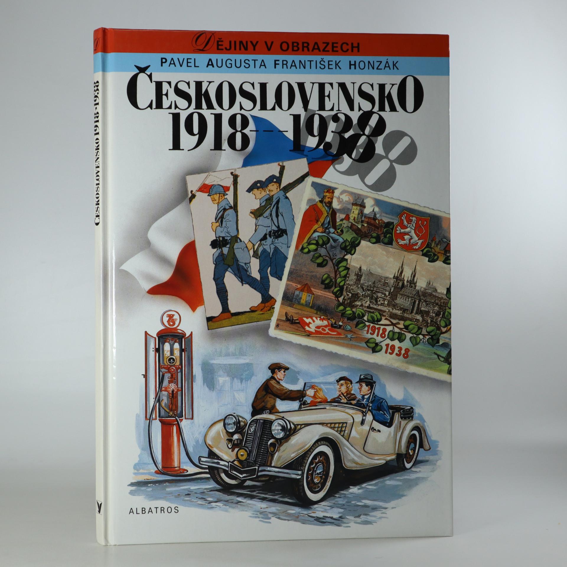 antikvární kniha Československo 1918-1938, 1992