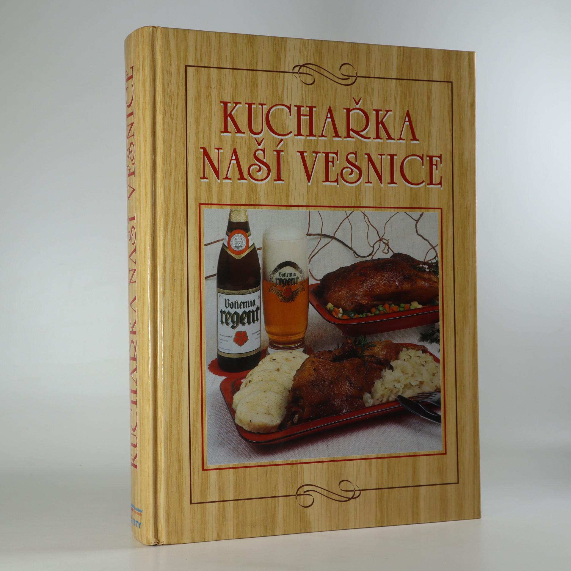 antikvární kniha Kuchařka naší vesnice, 1999
