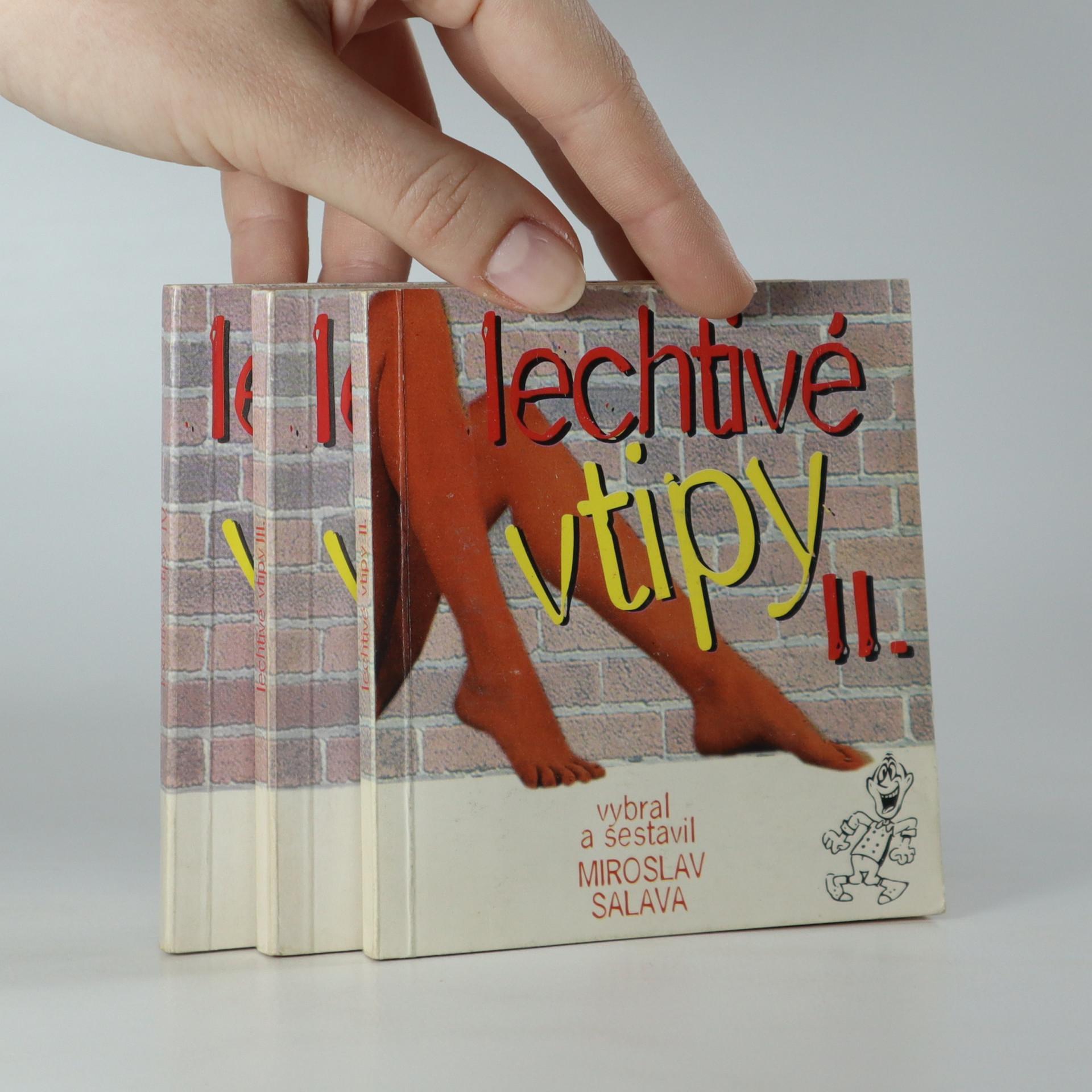 antikvární kniha Lechtivé vtipy. 2. - 4. díl., 1997