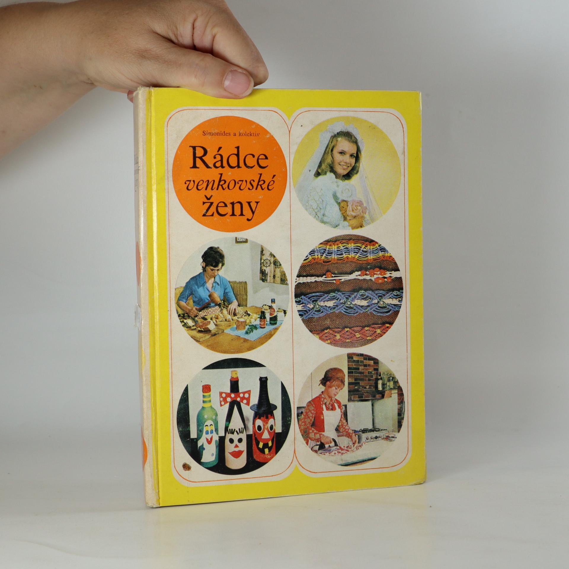 antikvární kniha Rádce venkovské ženy, 1978