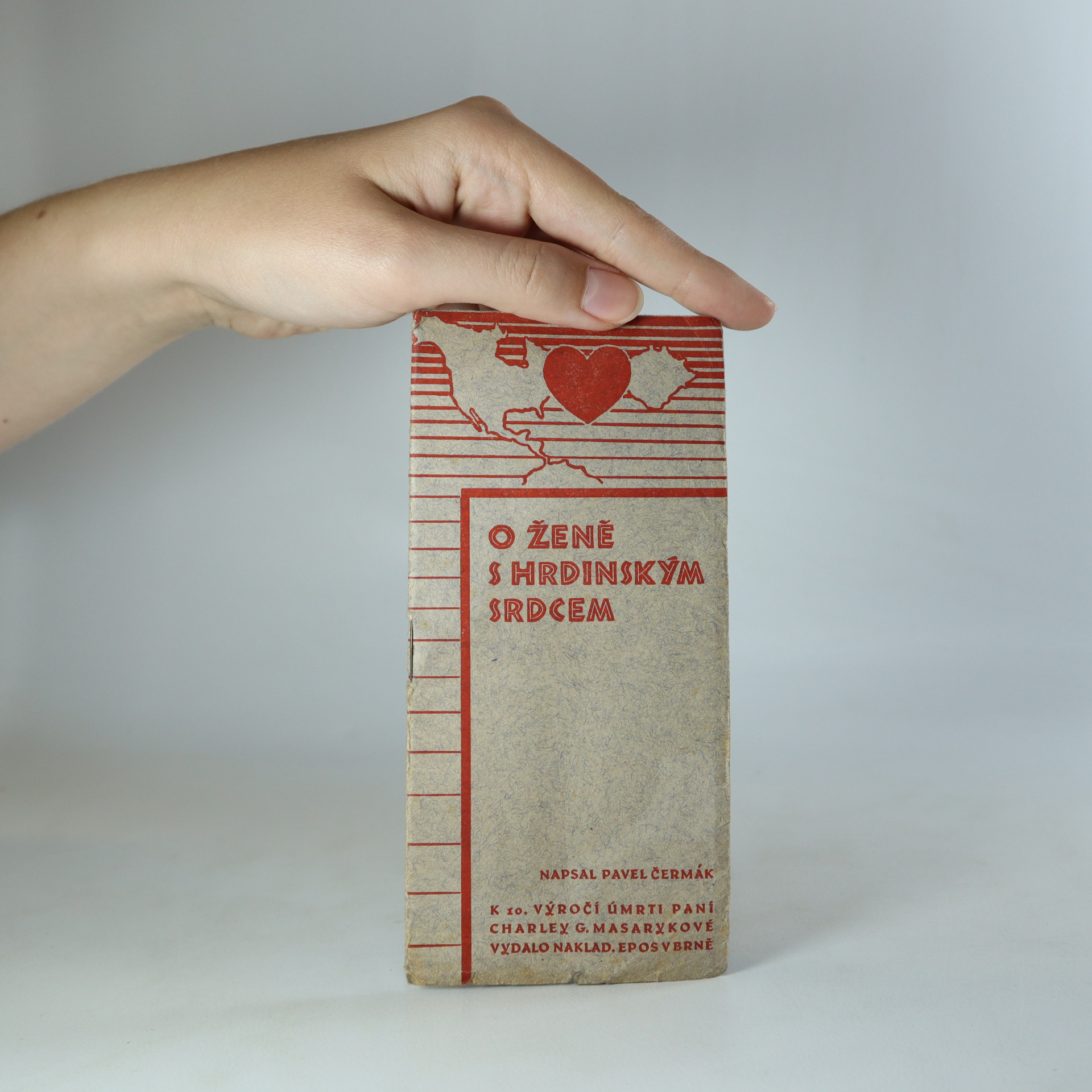 antikvární kniha O ženě s hrdinským srdcem, neuveden