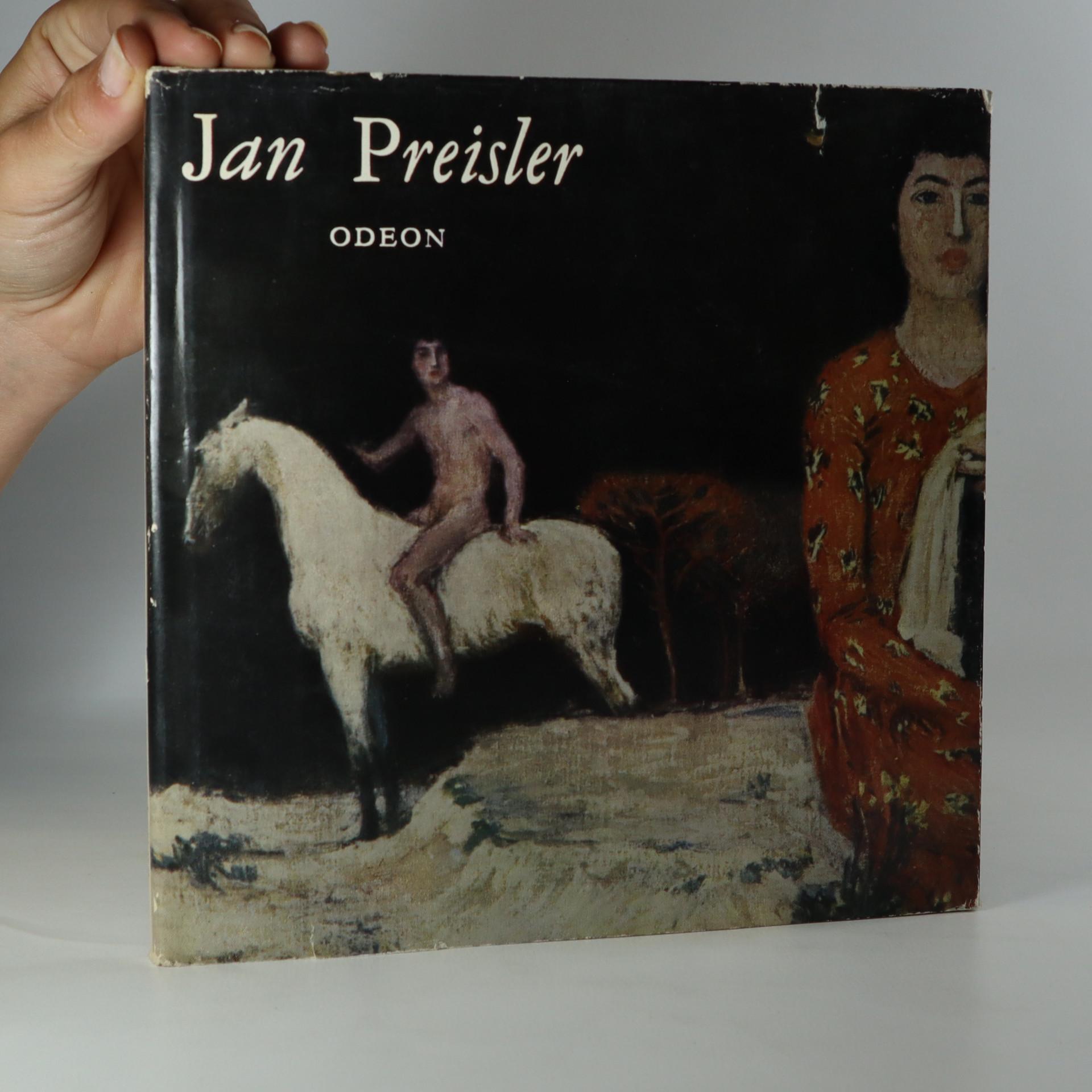 antikvární kniha Jan Preisler, 1968