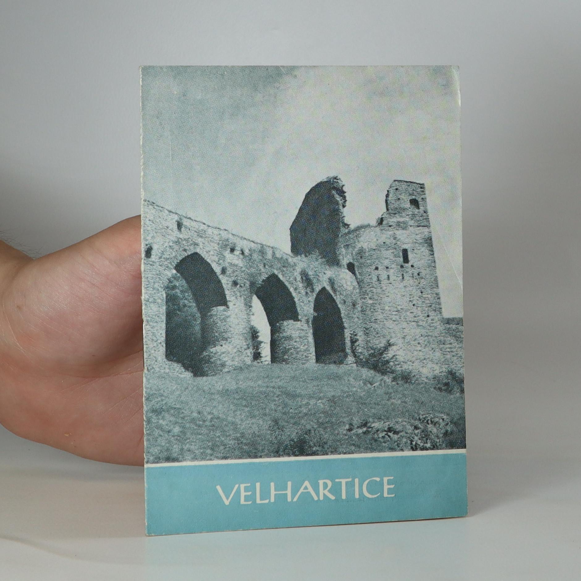 antikvární kniha Velhartice, 1962