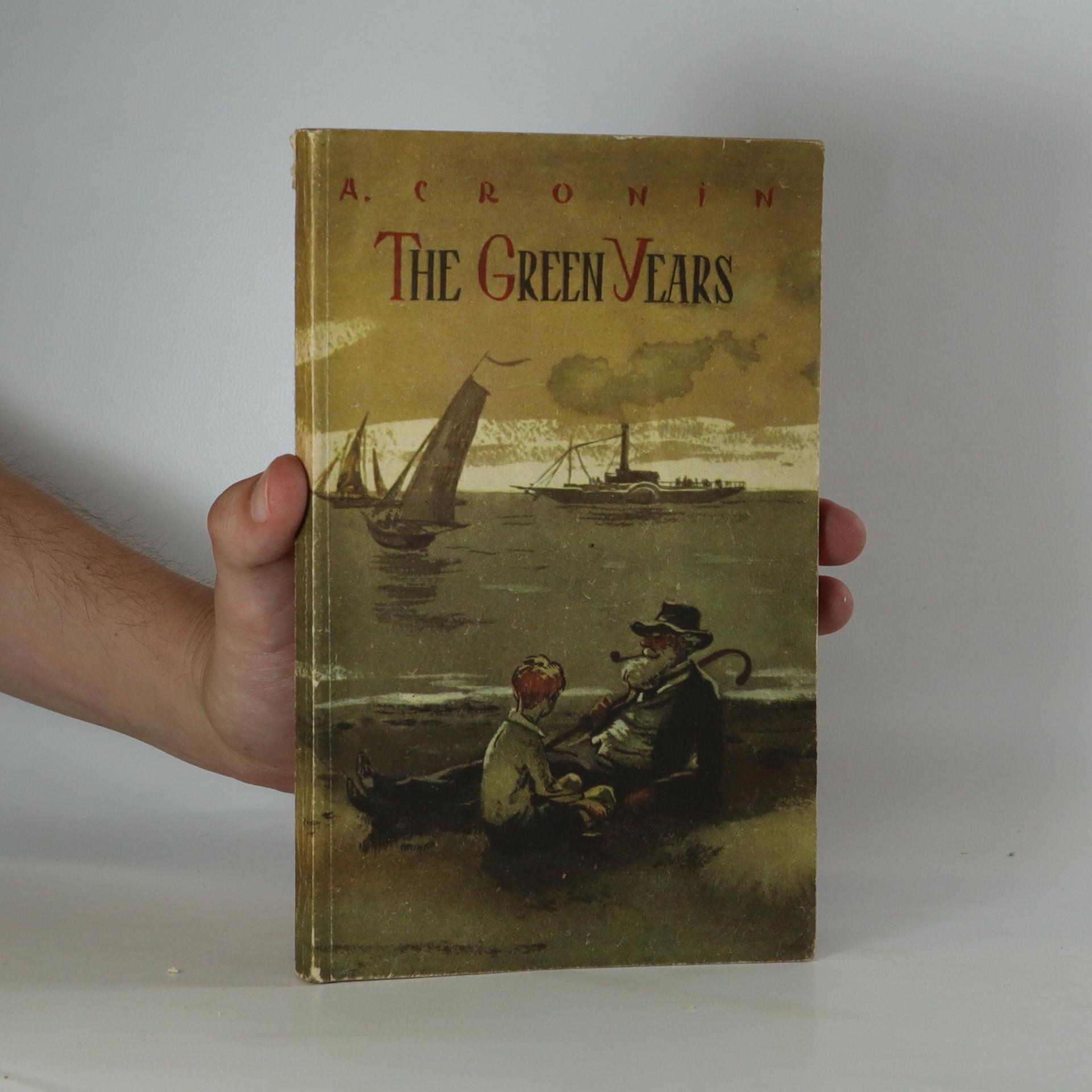 antikvární kniha The green years, 1970